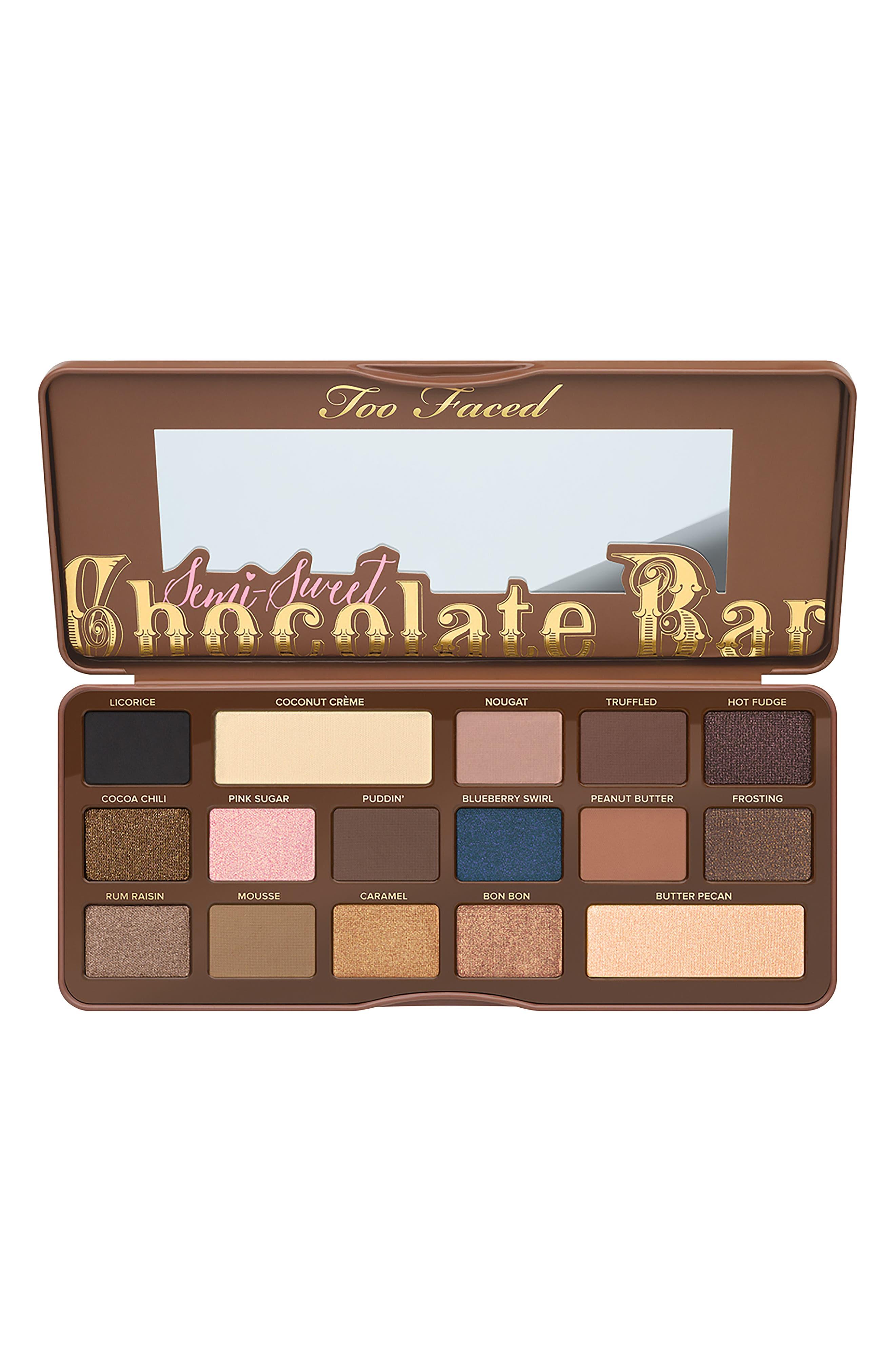 Semi-Sweet Chocolate Bar Eyeshadow Palette,                             Alternate thumbnail 2, color,                             NO COLOR