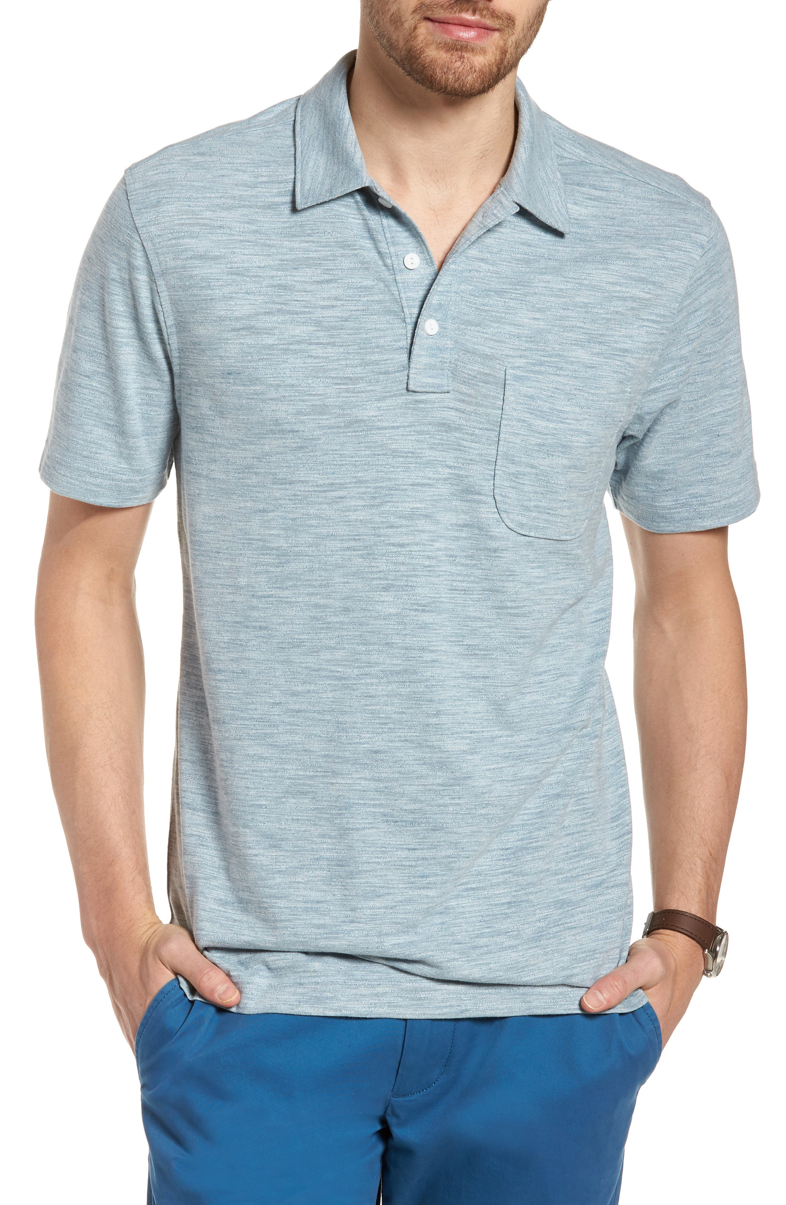 Space Dyed Pocket Polo,                             Main thumbnail 6, color,