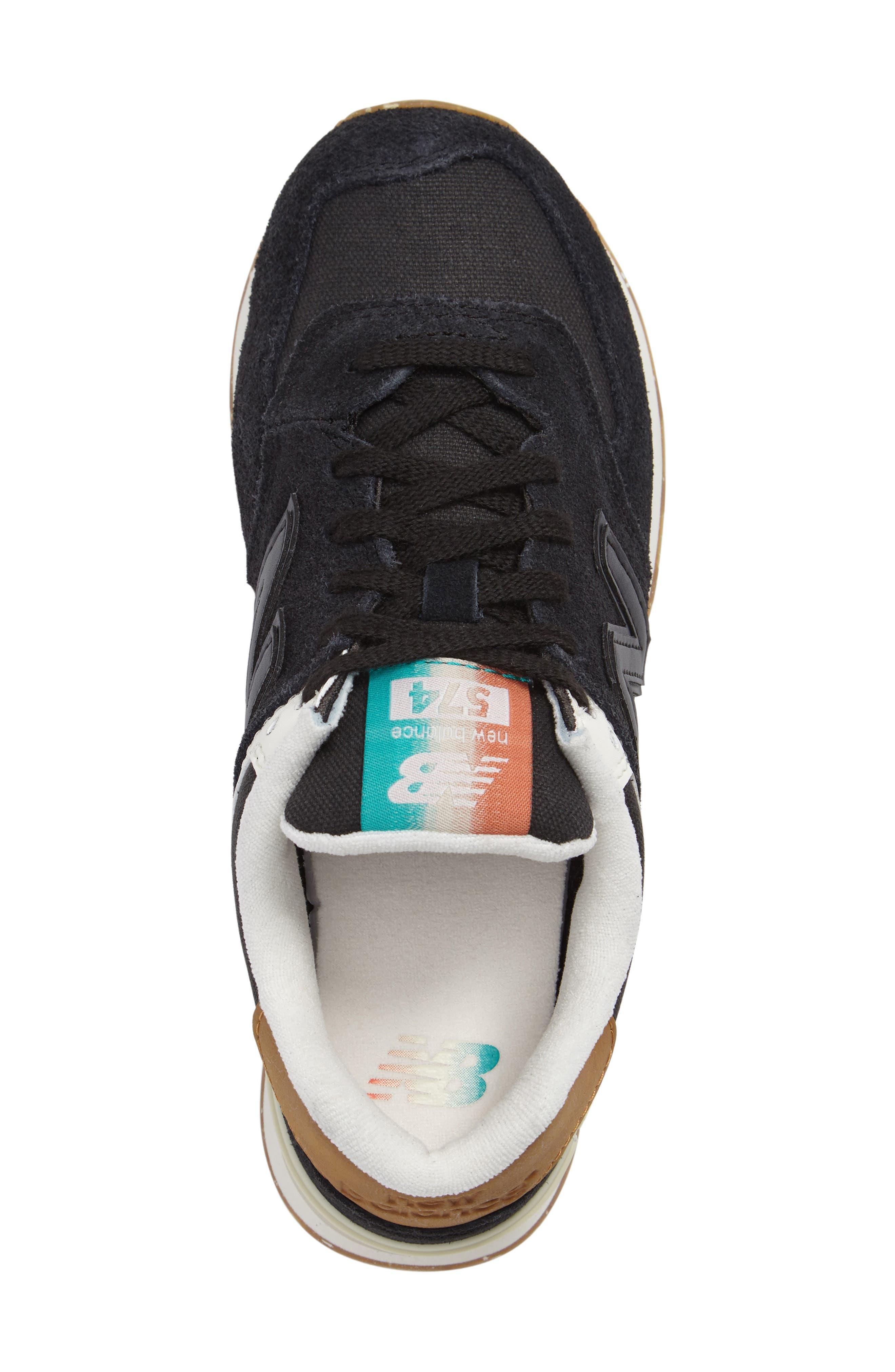 574 Global Surf Sneaker,                             Alternate thumbnail 3, color,                             001