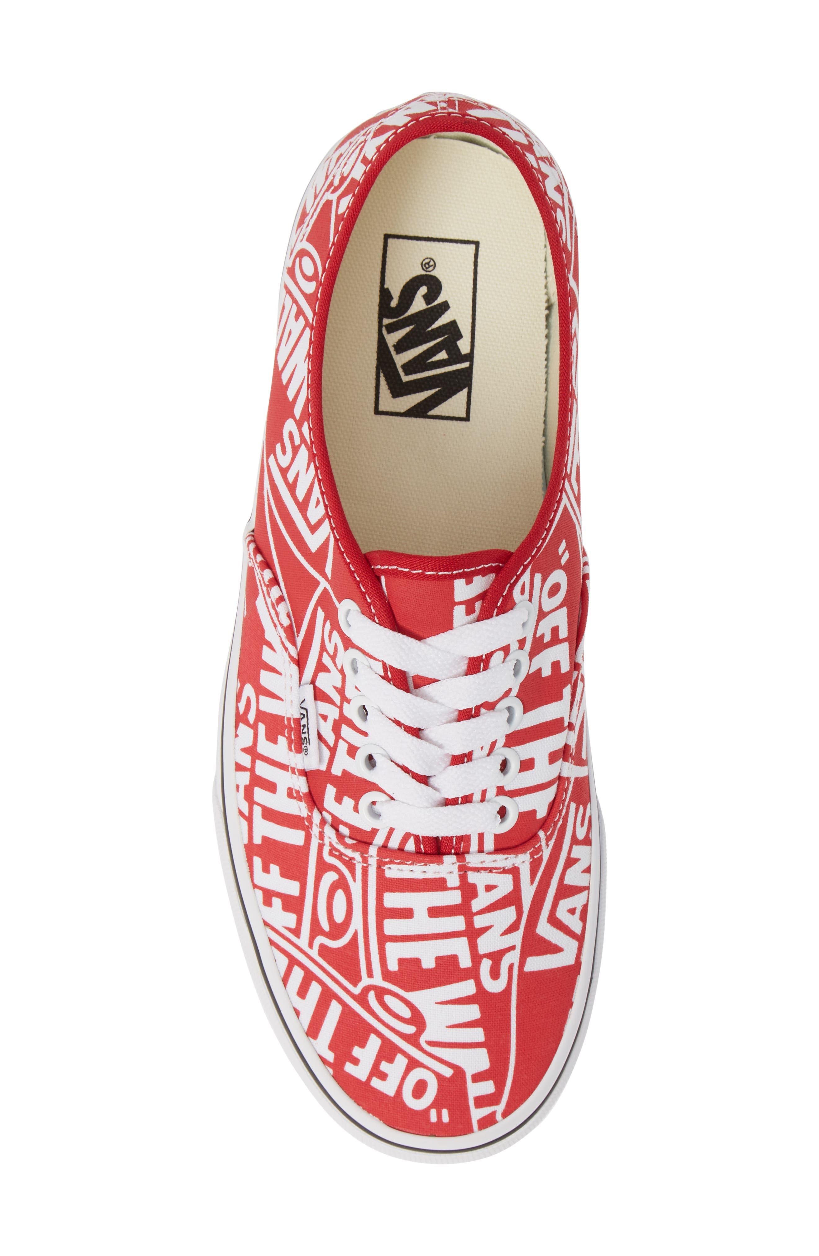 Authentic Sneaker,                             Alternate thumbnail 5, color,                             610