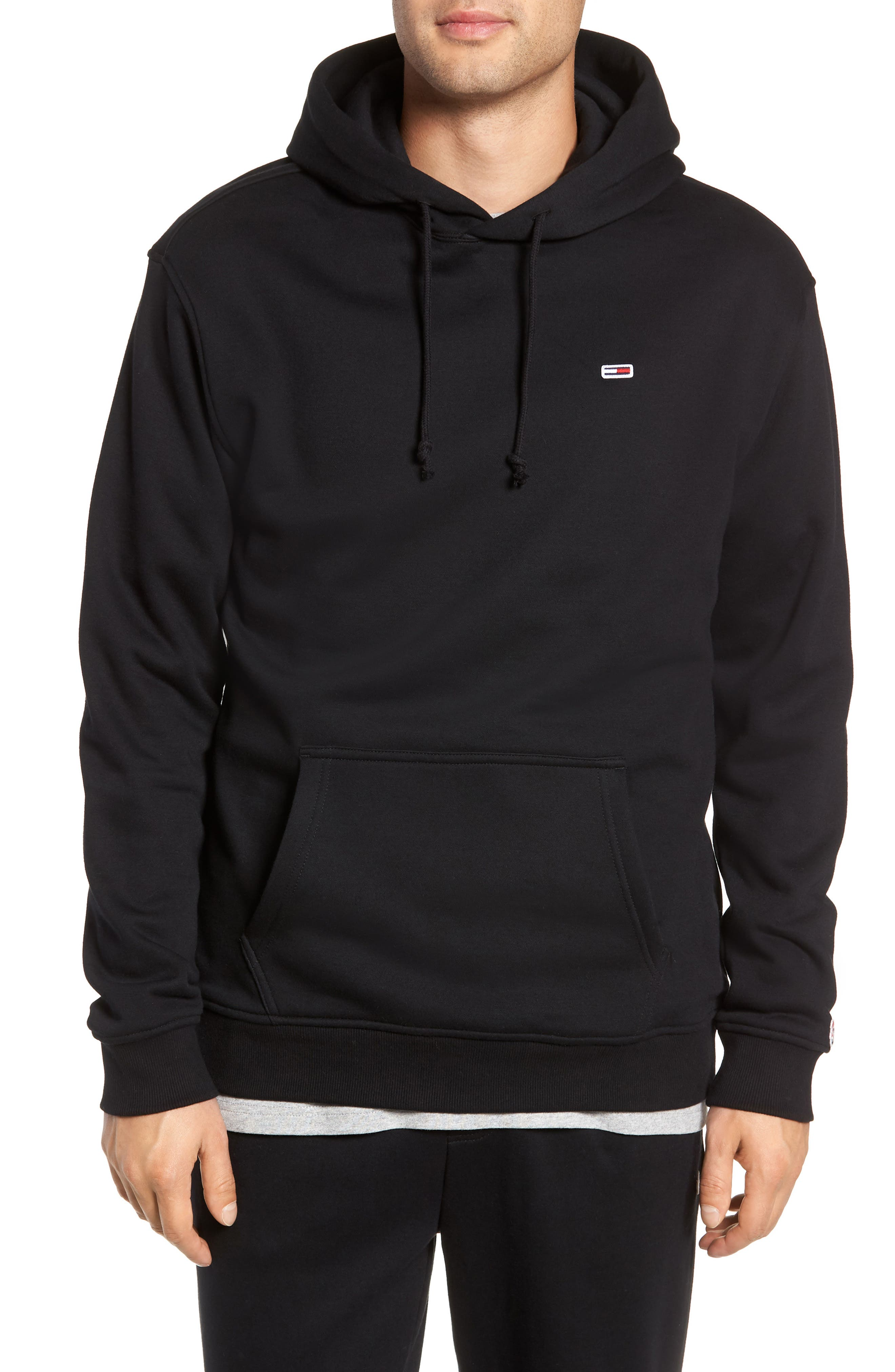 Tommy Classics Hoodie,                             Main thumbnail 1, color,                             001