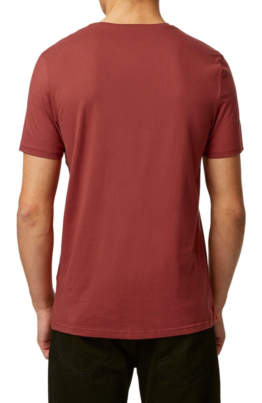 Slim Fit Crewneck T-Shirt,                             Alternate thumbnail 416, color,