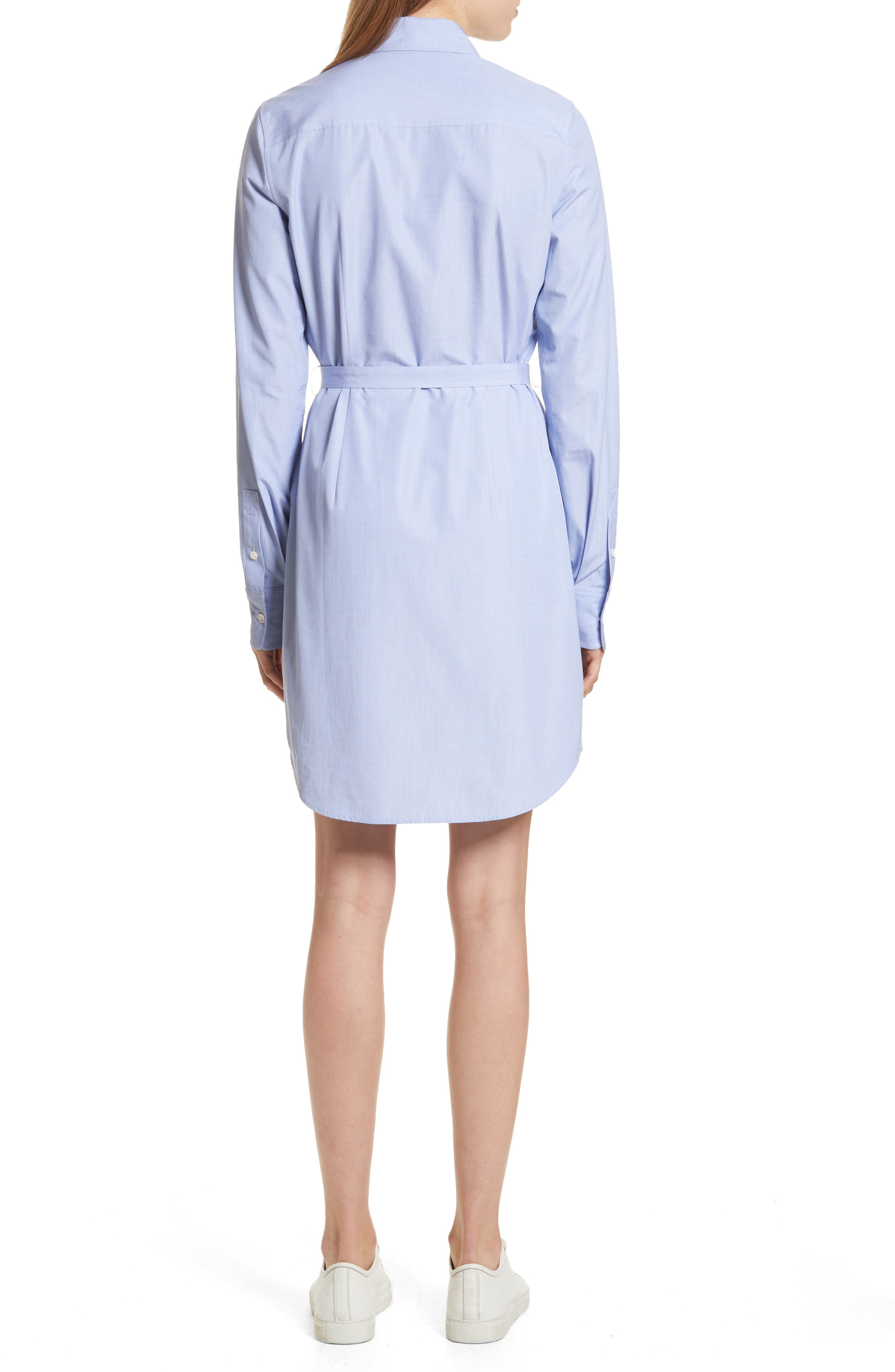Crowley Cotton Shirtdress,                             Alternate thumbnail 2, color,                             473