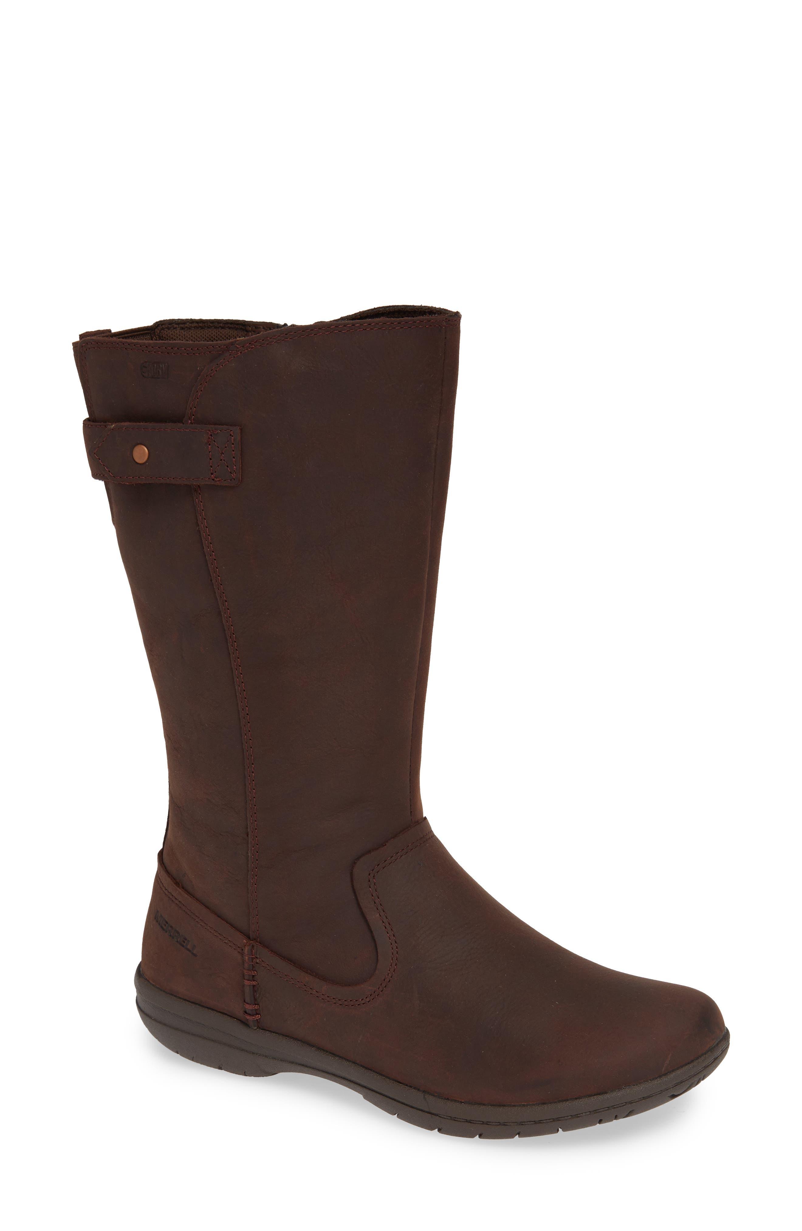 Merrell Encore Kassie Waterproof Boot- Brown