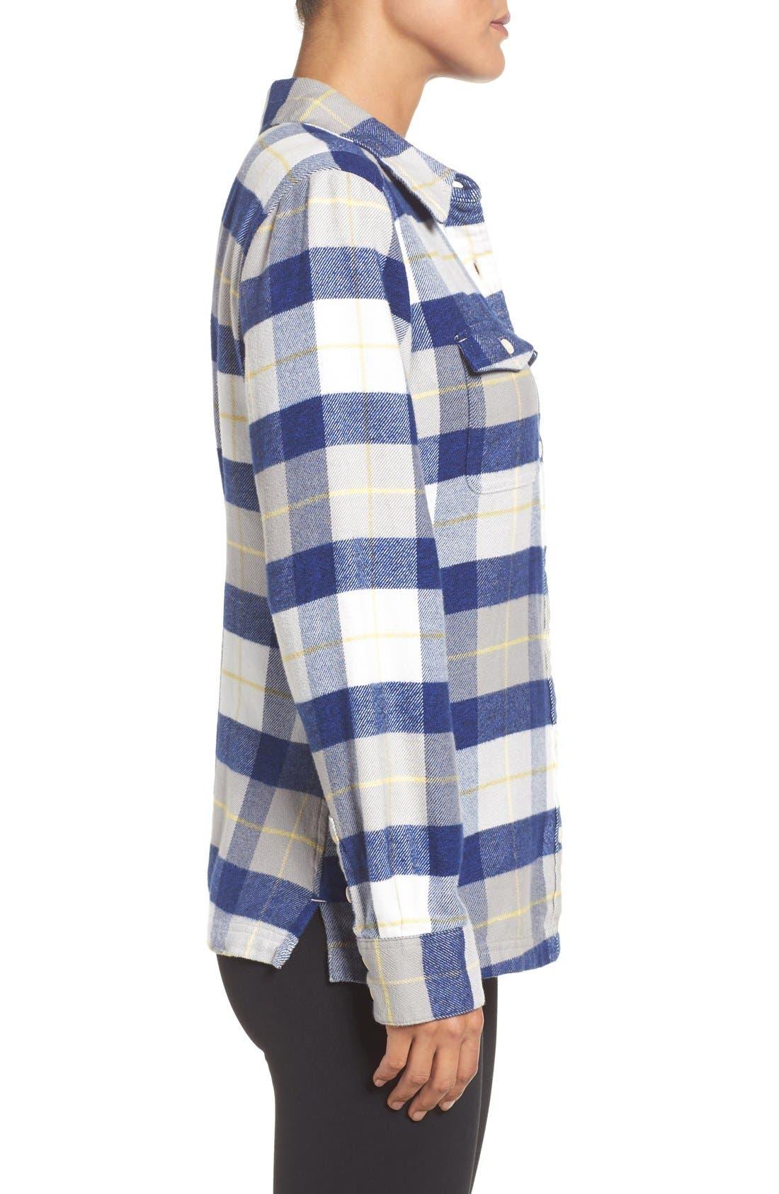 'Fjord' Flannel Shirt,                             Alternate thumbnail 65, color,