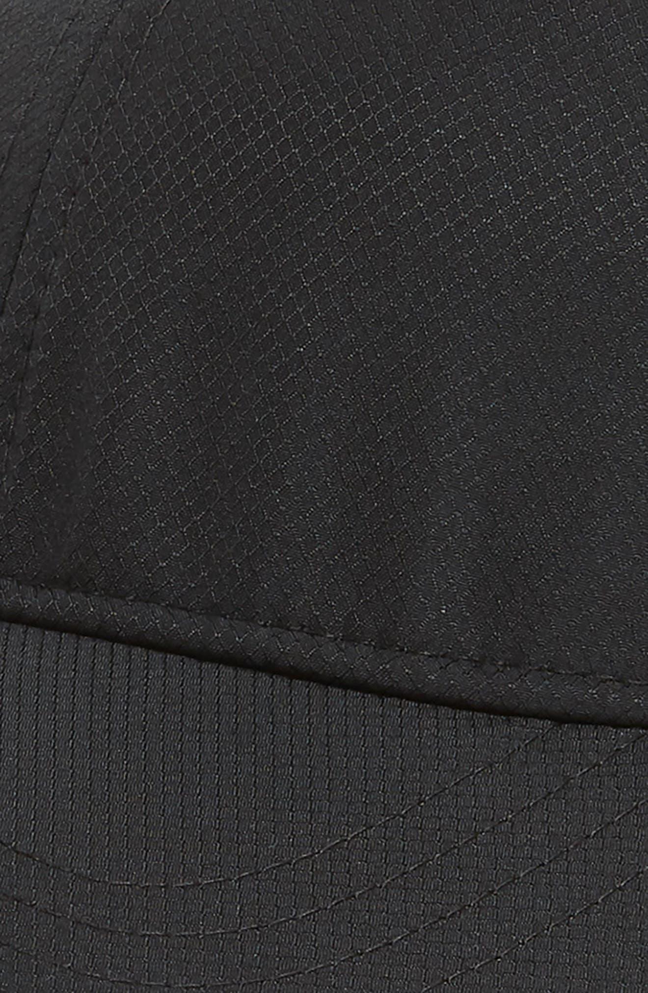 Sport Baseball Cap,                             Alternate thumbnail 3, color,                             BLACK