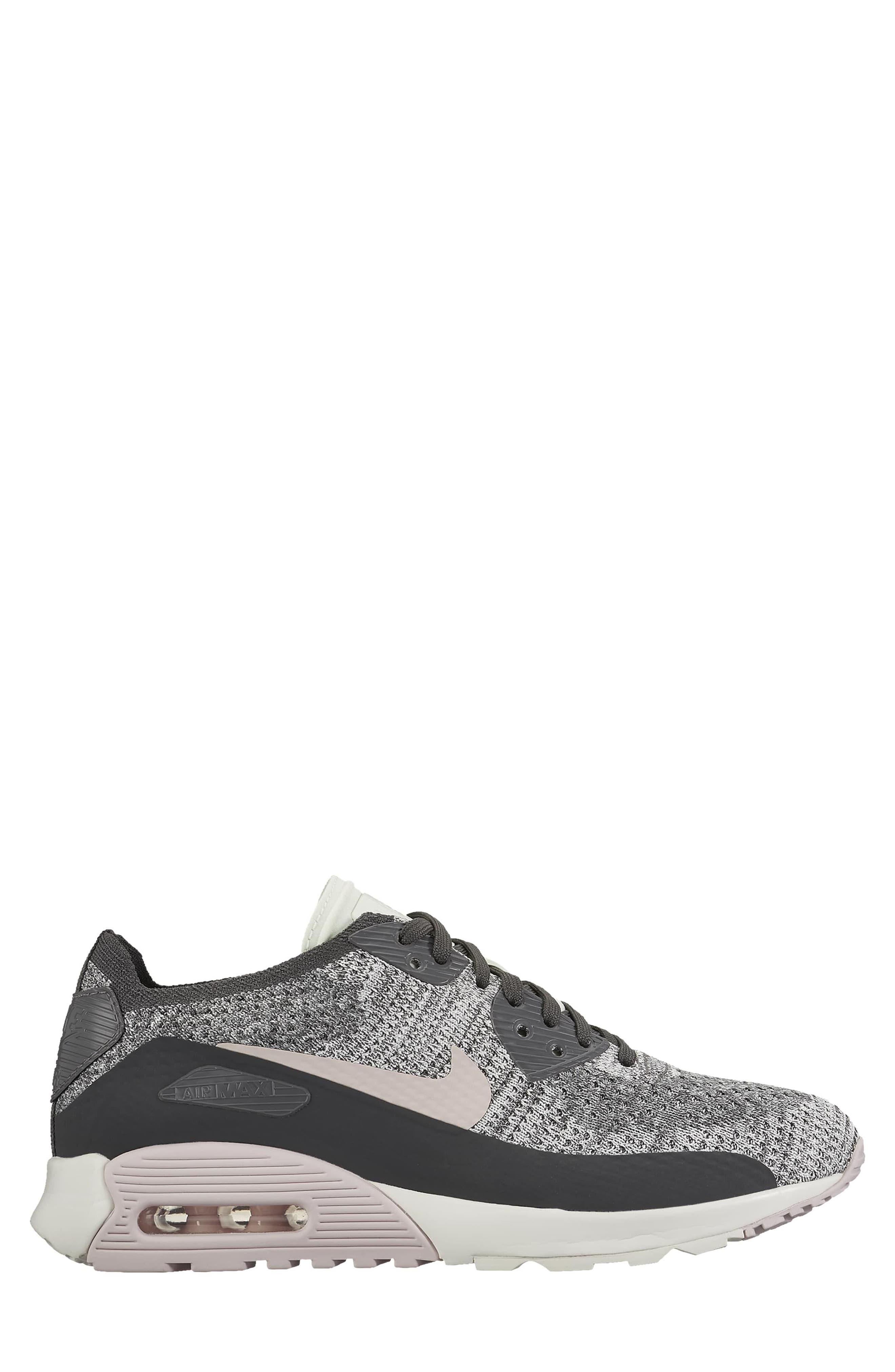 Air Max 90 Flyknit Ultra 2.0 Sneaker,                             Alternate thumbnail 8, color,