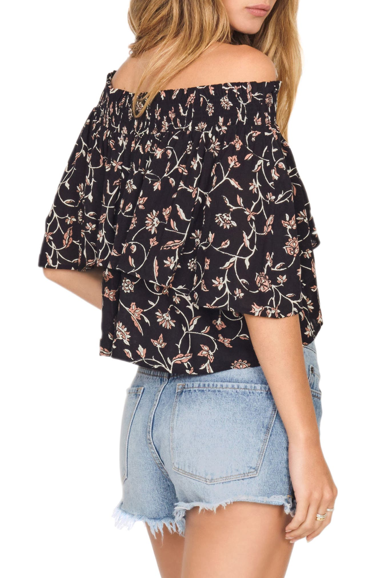 In Your Dreams Off the Shoulder Top,                             Alternate thumbnail 3, color,