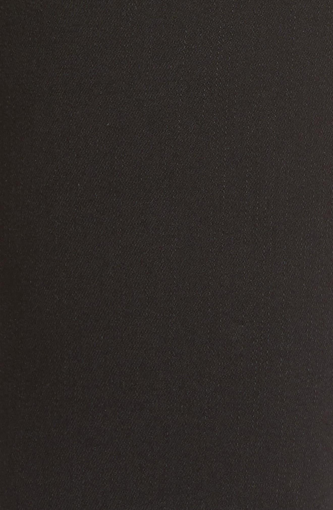 Slim Jeans,                             Alternate thumbnail 5, color,                             BLACK