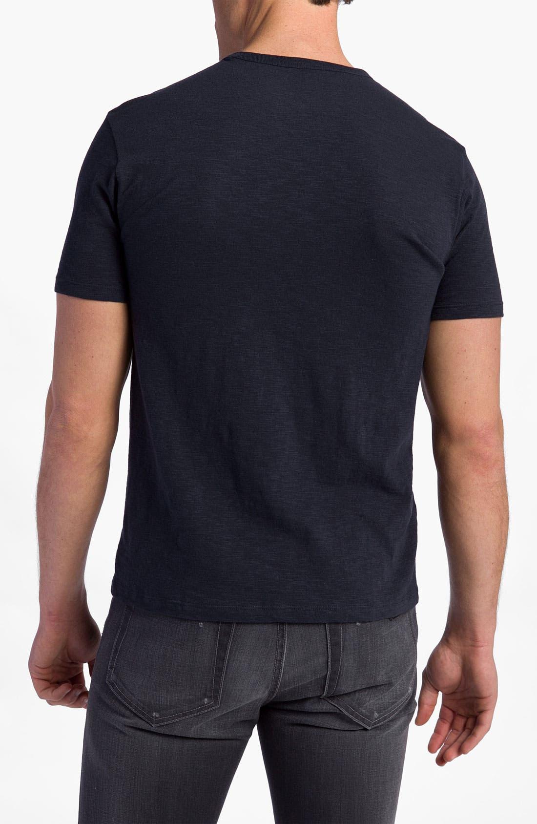'Chicago Cubs' Regular Fit Crewneck T-Shirt,                             Alternate thumbnail 41, color,