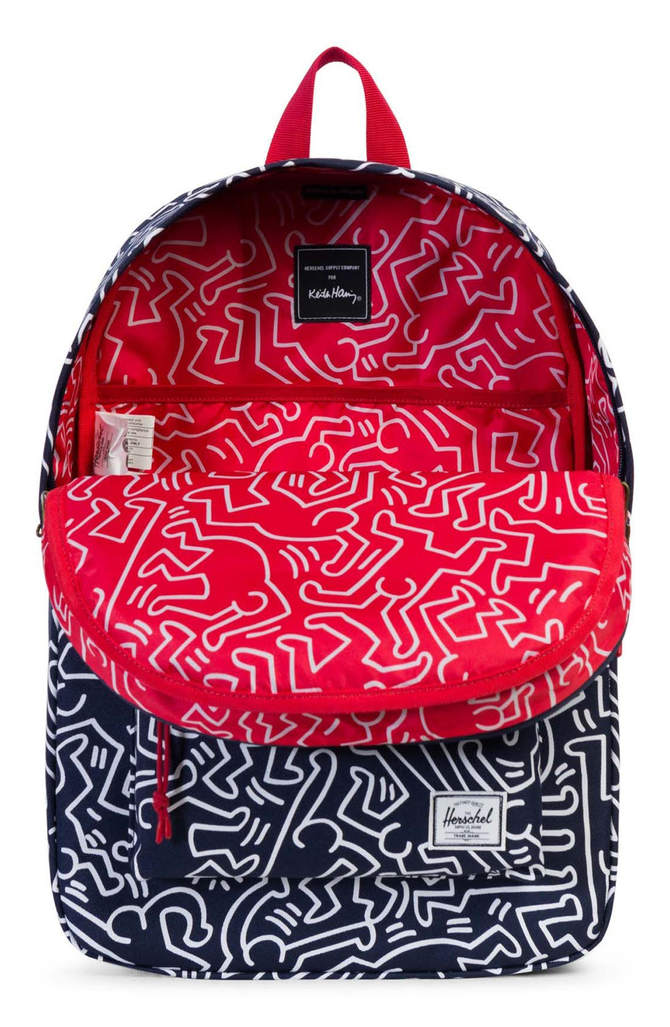 Winlaw x Keith Haring Backpack,                             Alternate thumbnail 6, color,