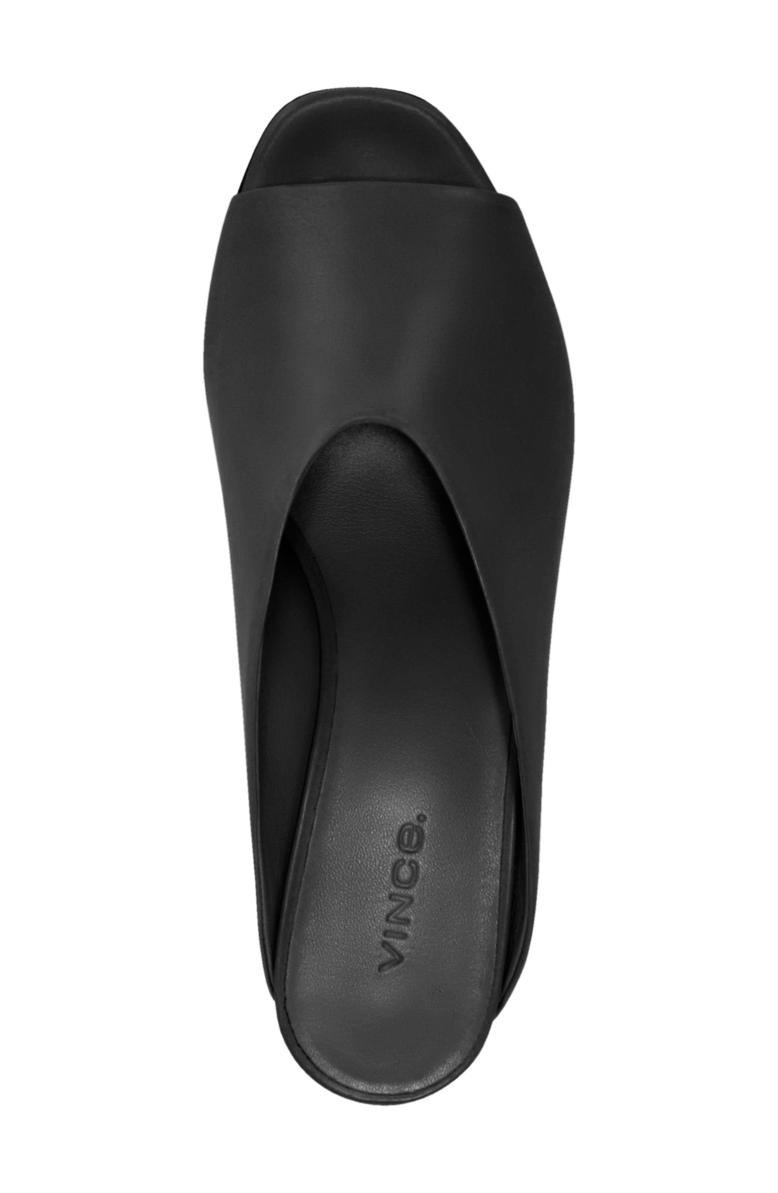 Cachet Sandal,                             Alternate thumbnail 4, color,                             BLACK SIVIGLIA CALF