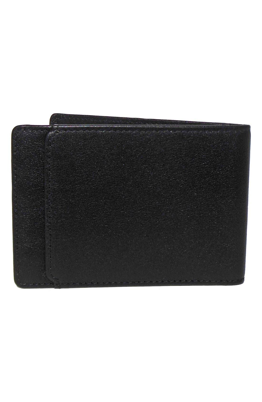 'Grant Slimster' RFID Blocker Leather Wallet,                             Alternate thumbnail 4, color,