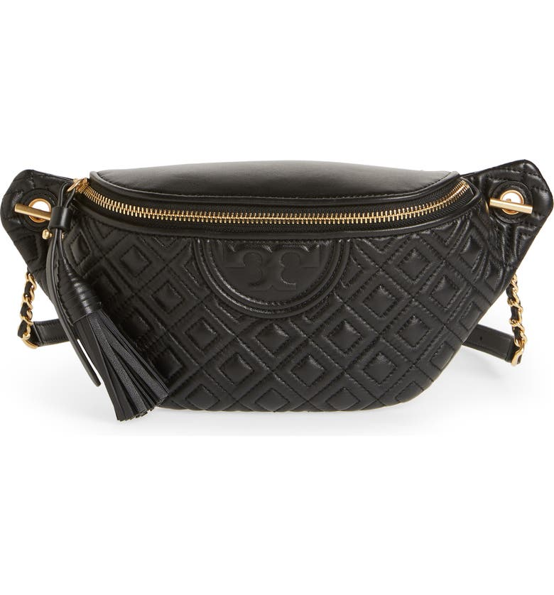 2ff280c514d3 Tory Burch Fleming Quilted Leather Belt Bag