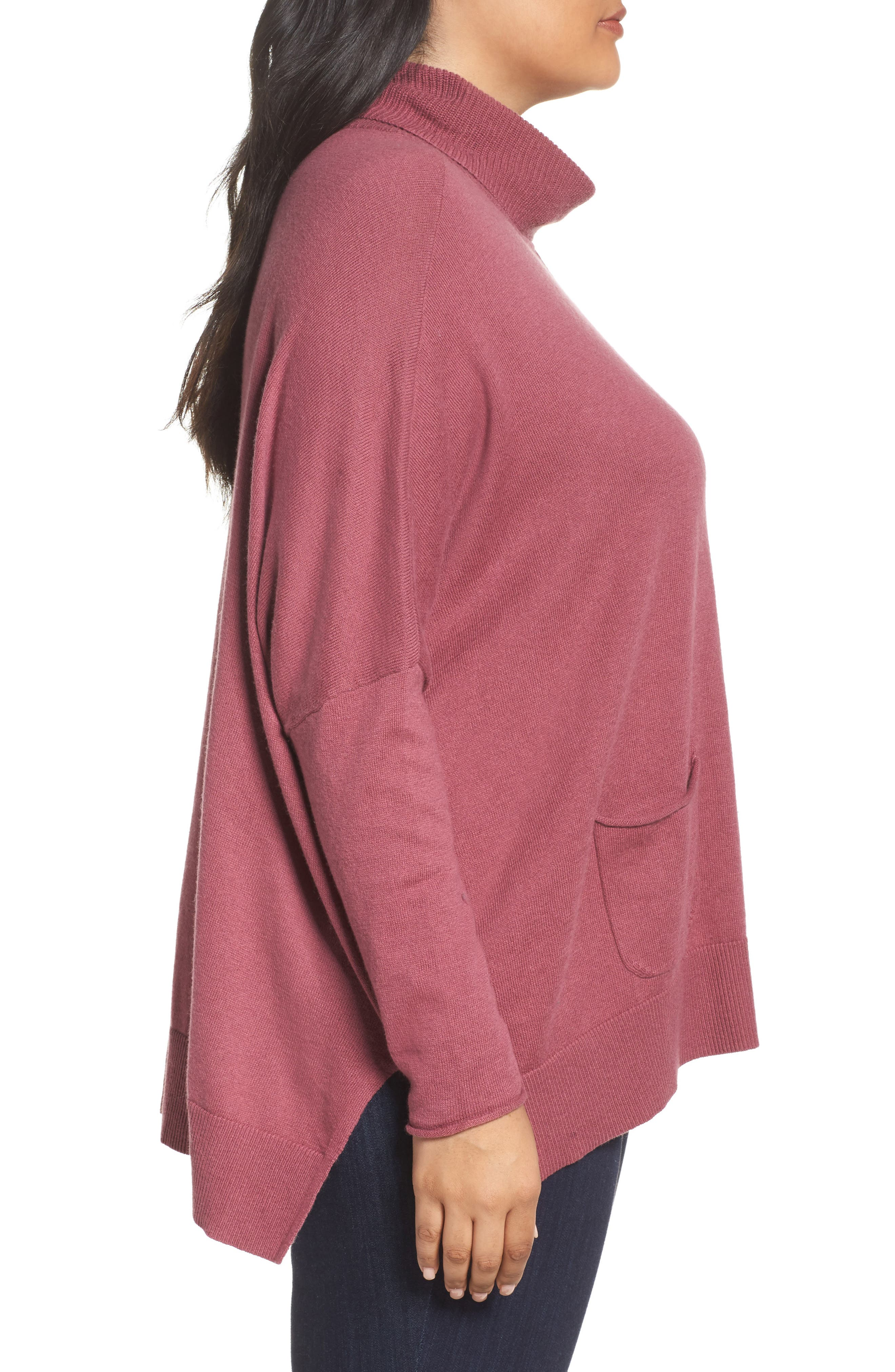 Relaxed Cotton & Cashmere Sweater,                             Alternate thumbnail 12, color,