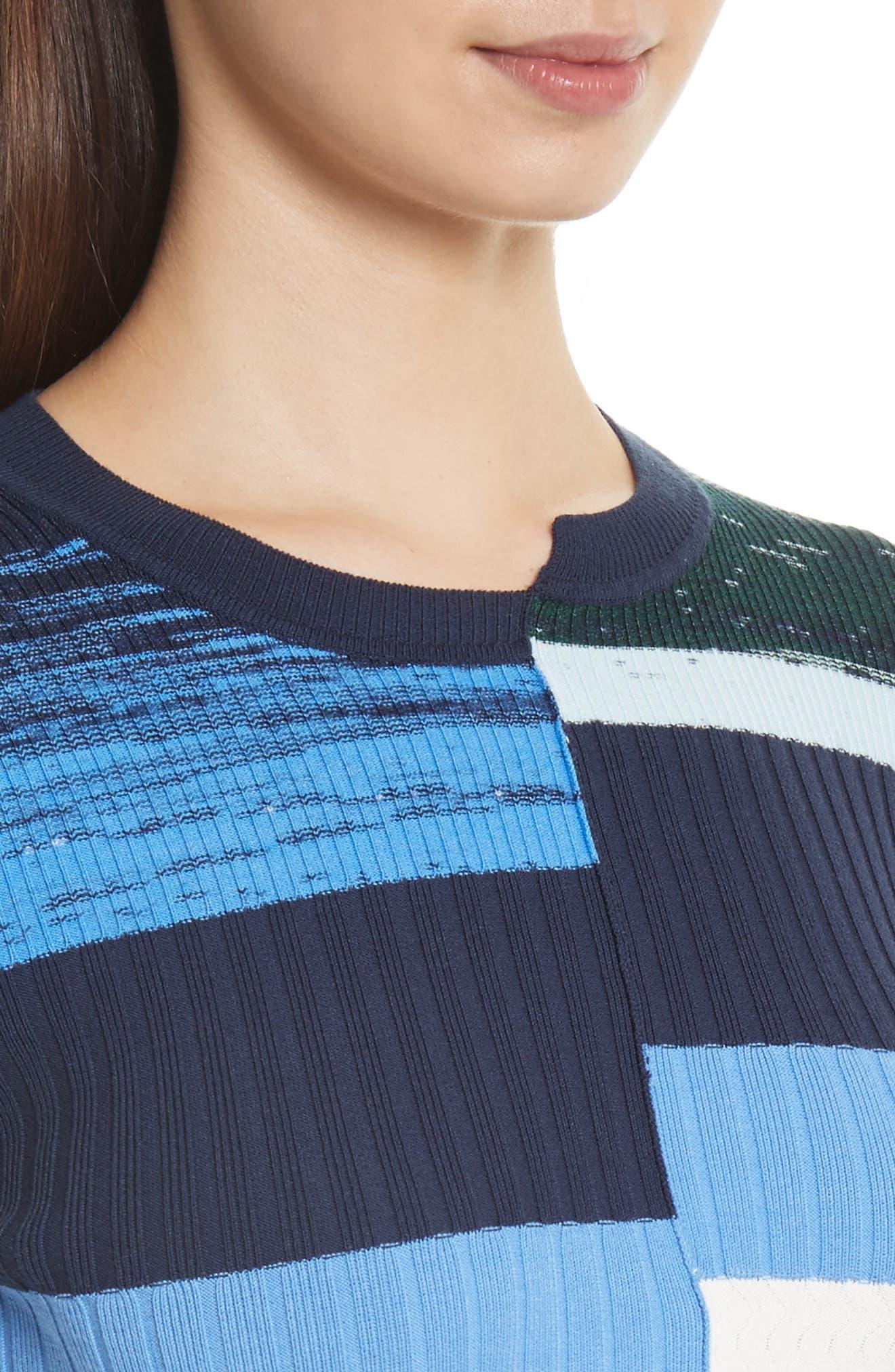 Space Dye Stripe Top,                             Alternate thumbnail 4, color,                             460