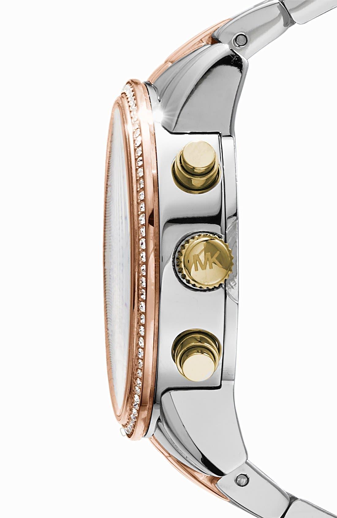 Michael Kors 'Ritz' Chronograph Bracelet Watch, 36mm,                             Alternate thumbnail 2, color,                             040
