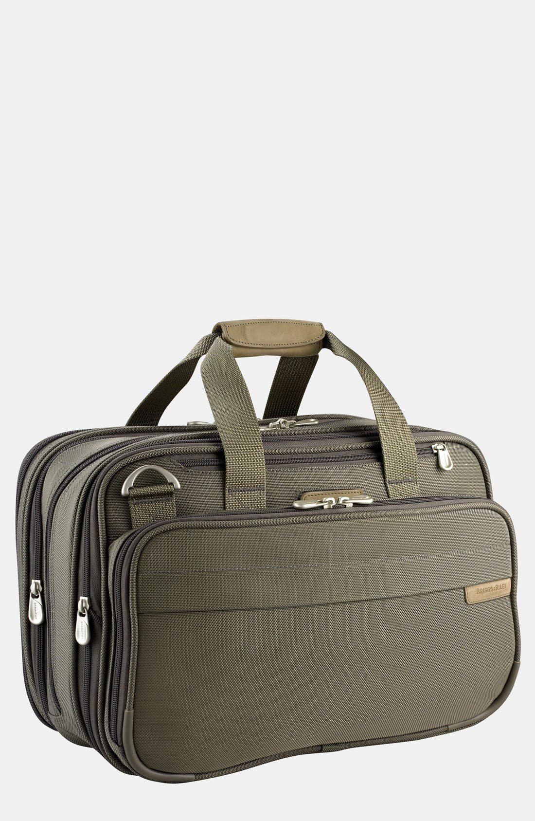 Expandable Cabin Bag,                         Main,                         color, OLIVE