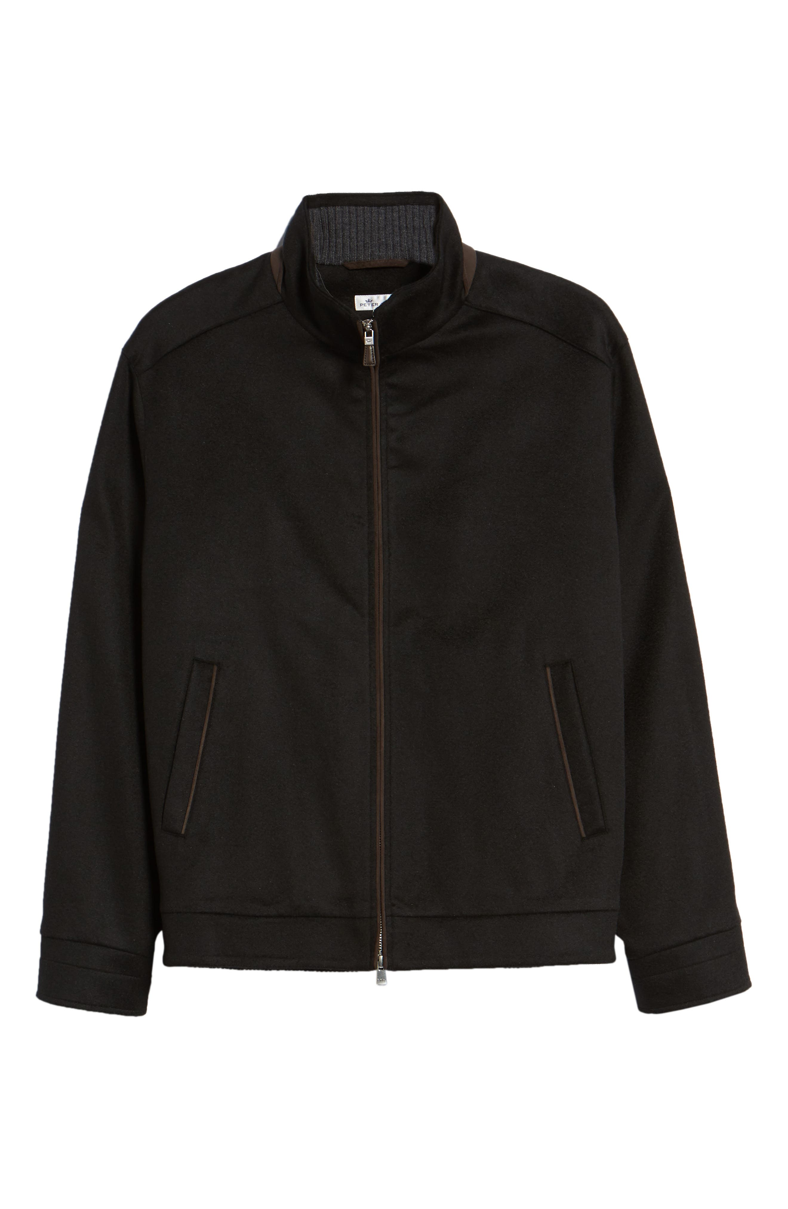 Westport Crown Wool & Cashmere Jacket,                             Alternate thumbnail 6, color,                             001