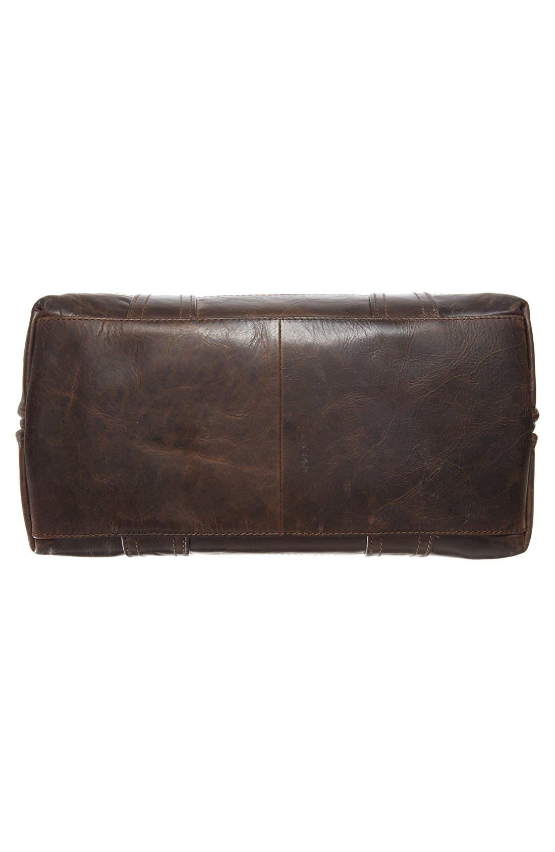 'Melissa' Domed Leather Satchel,                             Alternate thumbnail 6, color,                             020