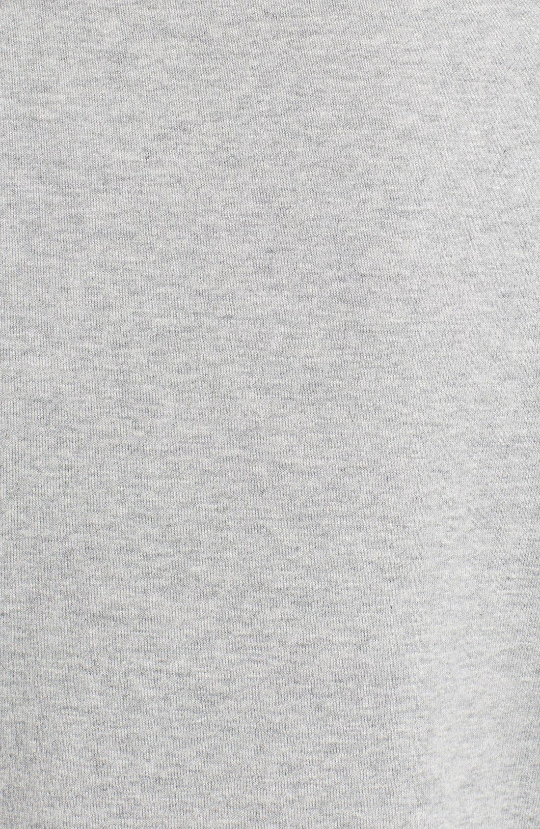 Studded Crewneck Sweatshirt,                             Alternate thumbnail 3, color,                             GREY