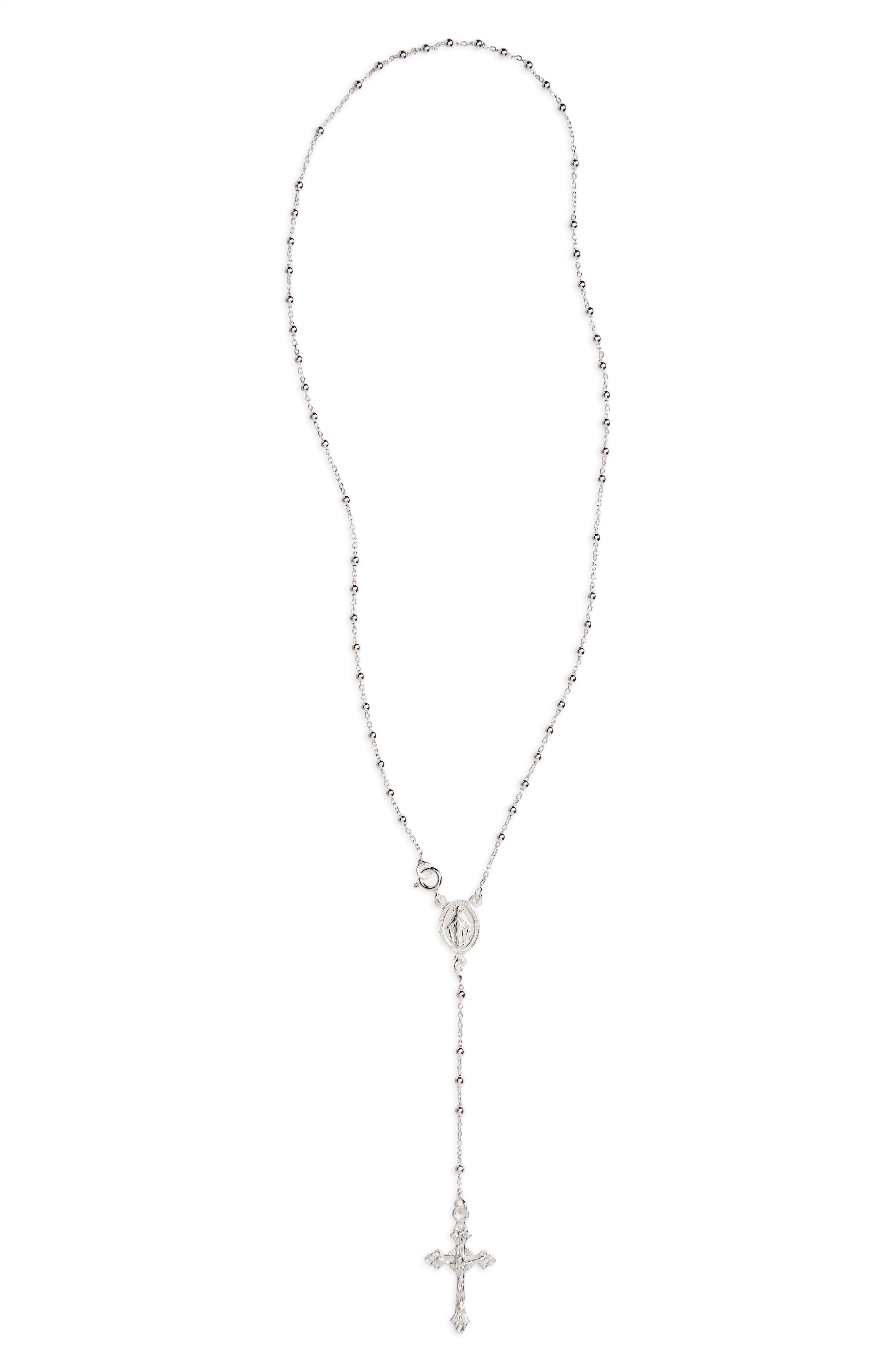 Kardee Kids Rosary,                         Main,                         color, SILVER