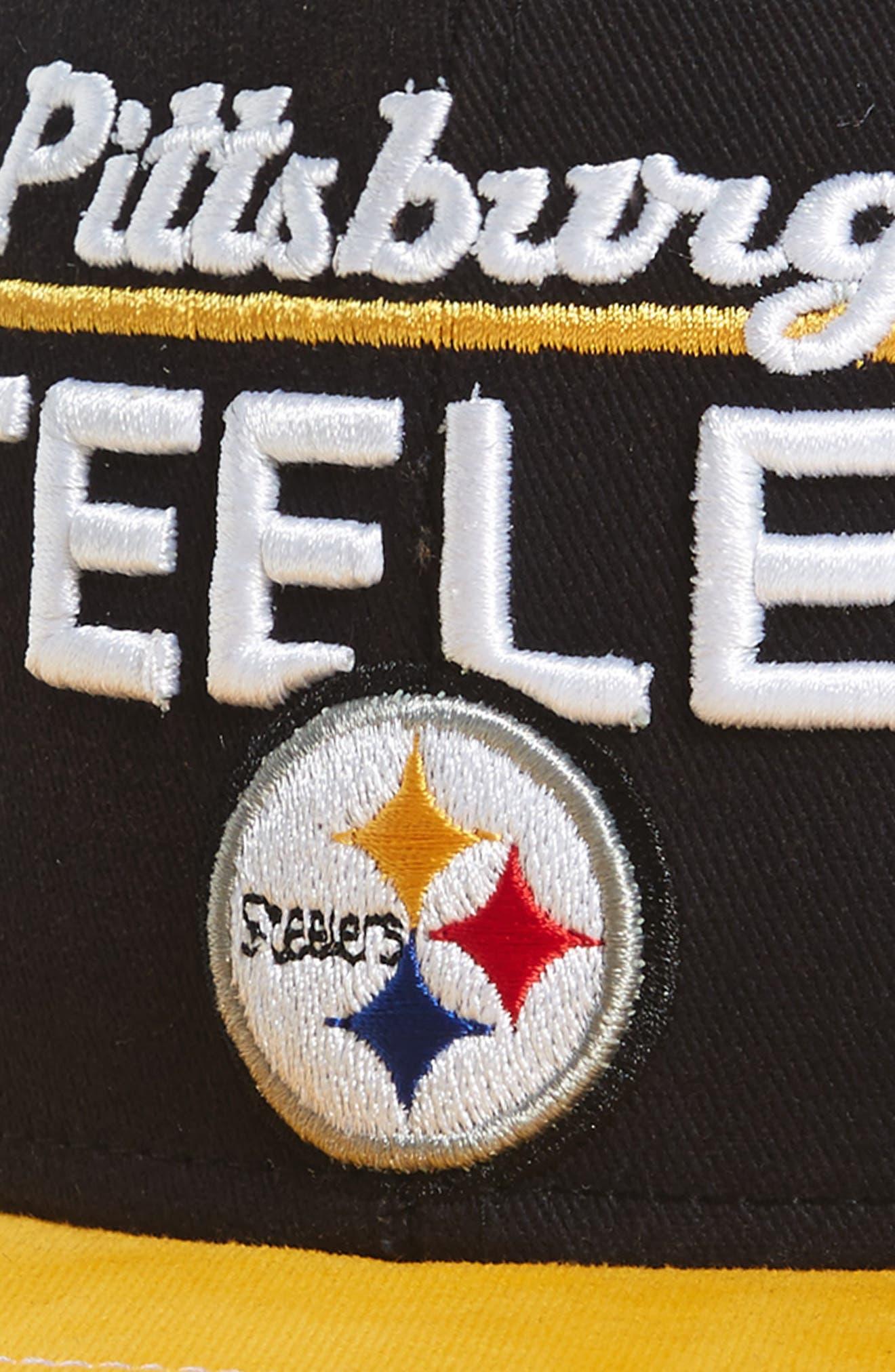 NFL Logo Retro Bar Baseball Cap,                             Alternate thumbnail 32, color,