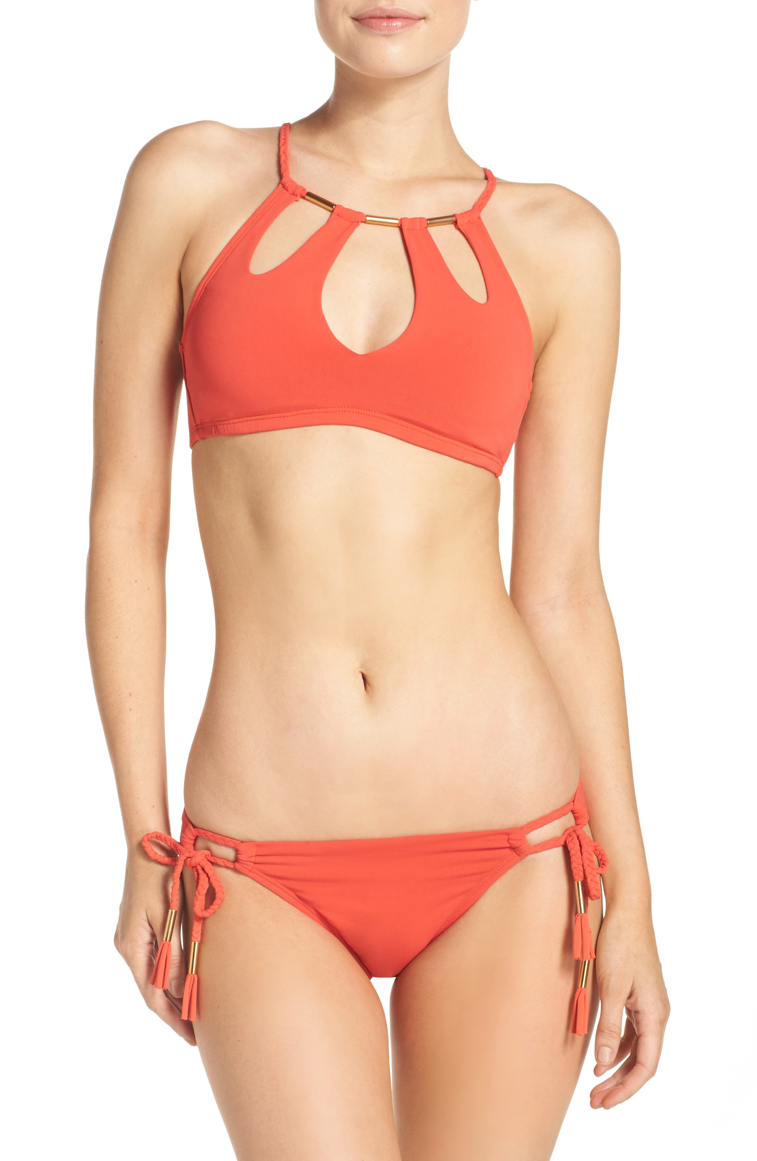Side Tie Bikini Bottoms,                             Alternate thumbnail 30, color,
