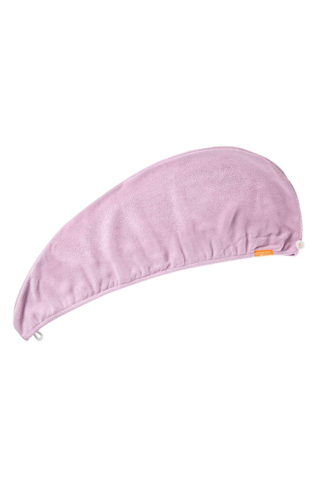 Lisse Luxe Desert Rose Hair Turban,                             Alternate thumbnail 5, color,                             DESERT ROSE