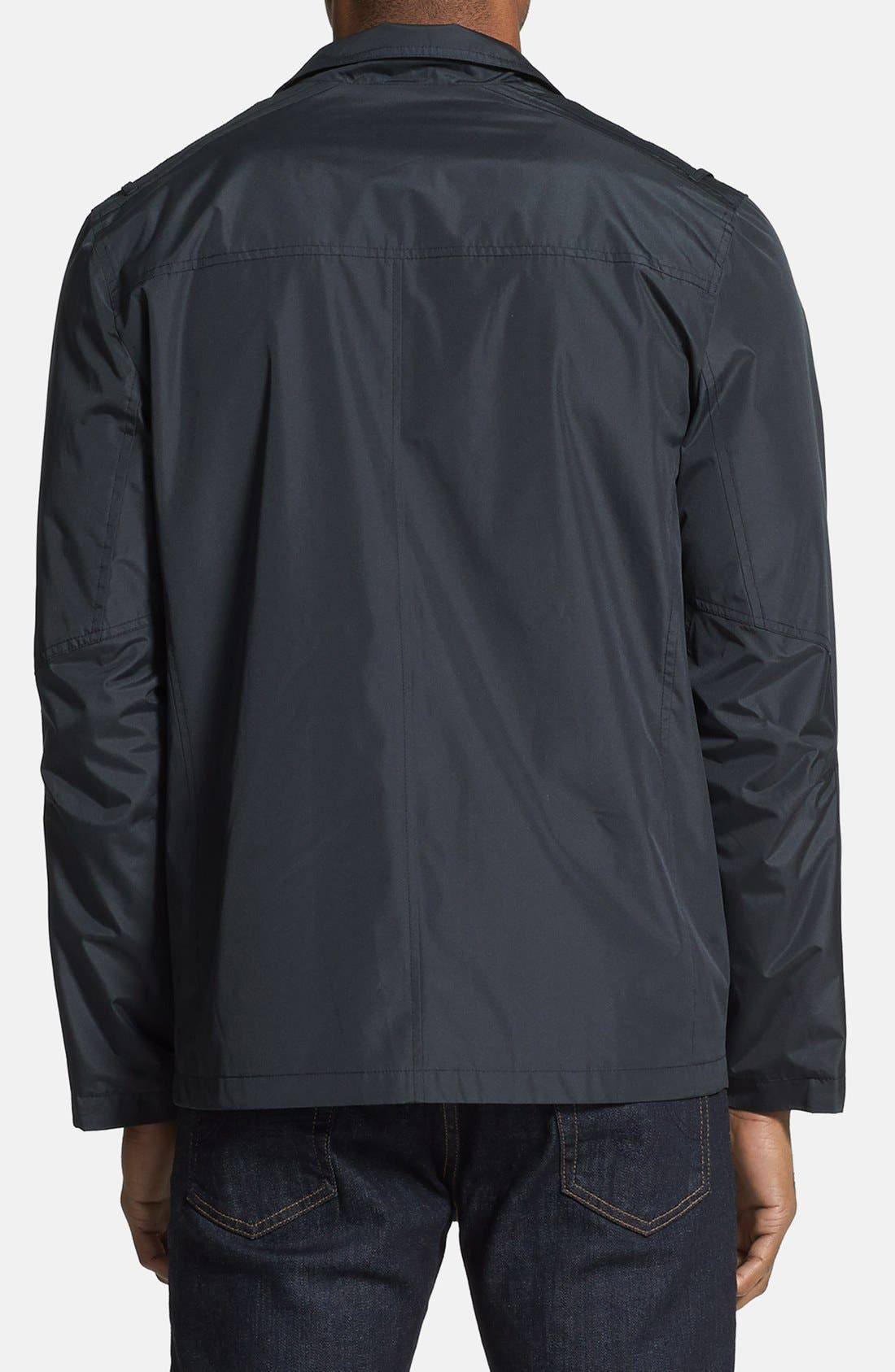 ANDREW MARC,                             'Robert' Water Resistant Jacket,                             Alternate thumbnail 5, color,                             001