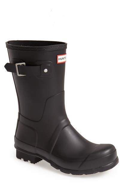 Hunter Boots ORIGINAL SHORT WATERPROOF RAIN BOOT