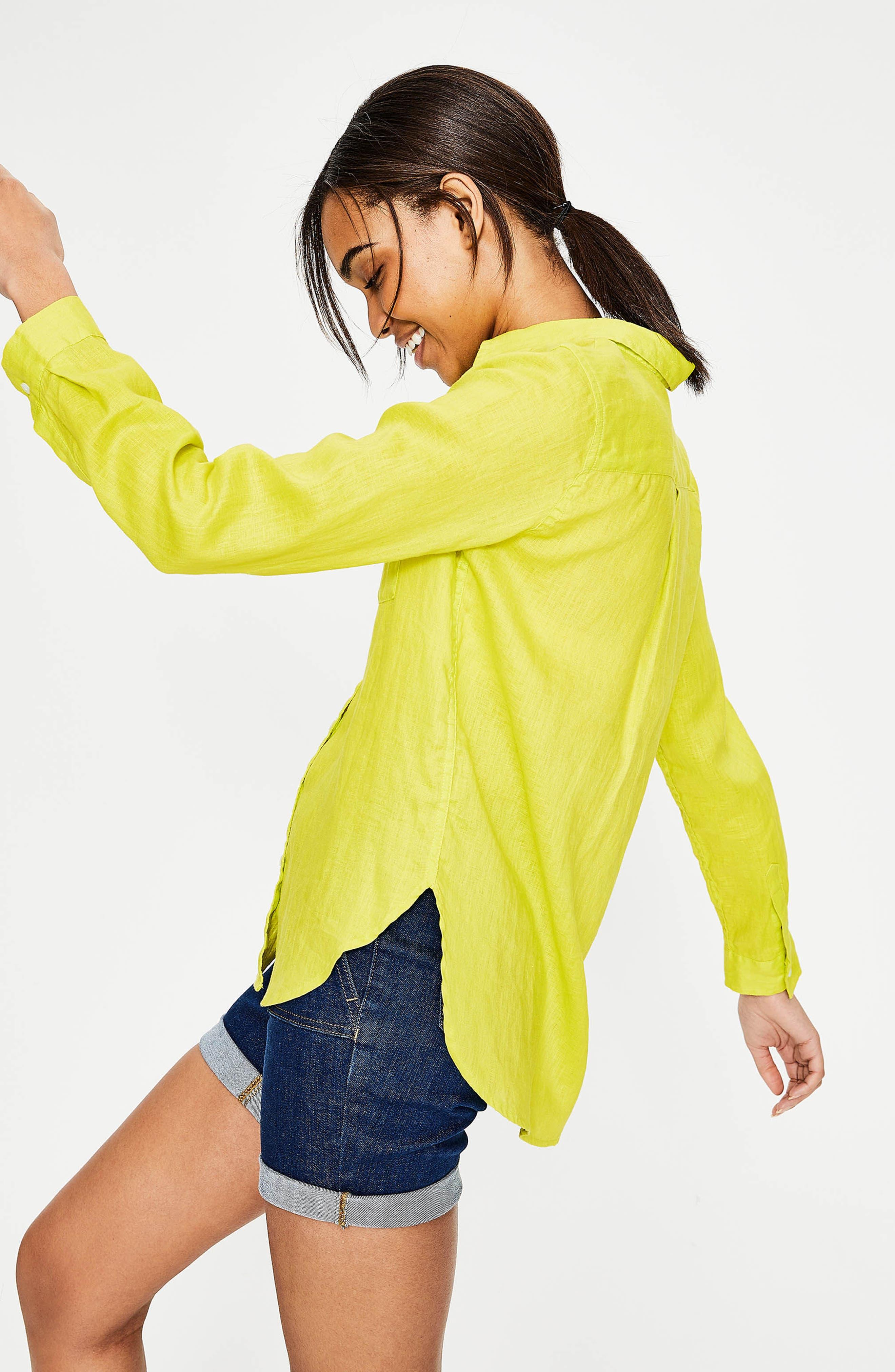 Linen Shirt,                             Alternate thumbnail 10, color,
