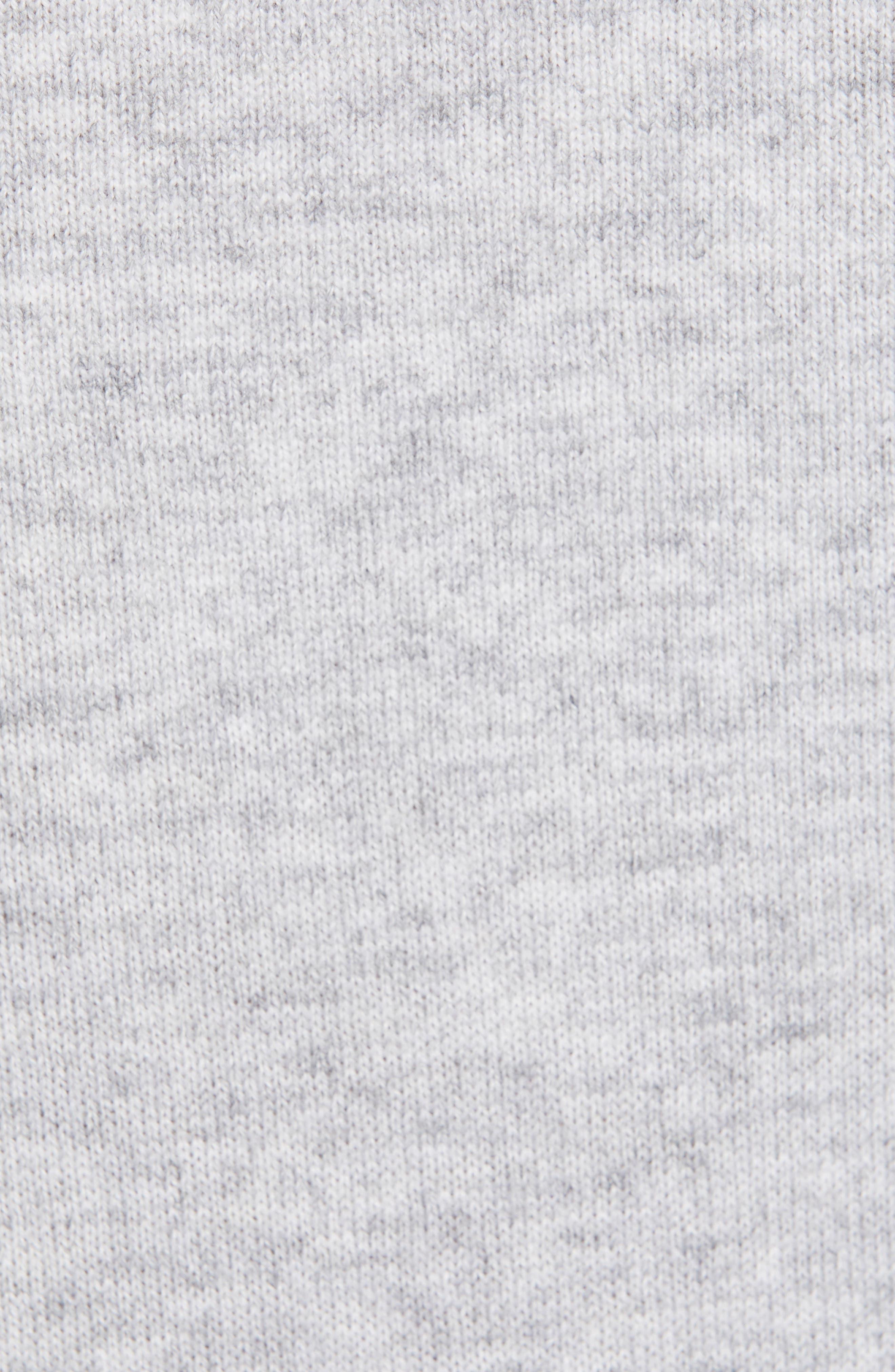 TED BAKER LONDON,                             Redinn Butterfly Sweater,                             Alternate thumbnail 5, color,                             GREY