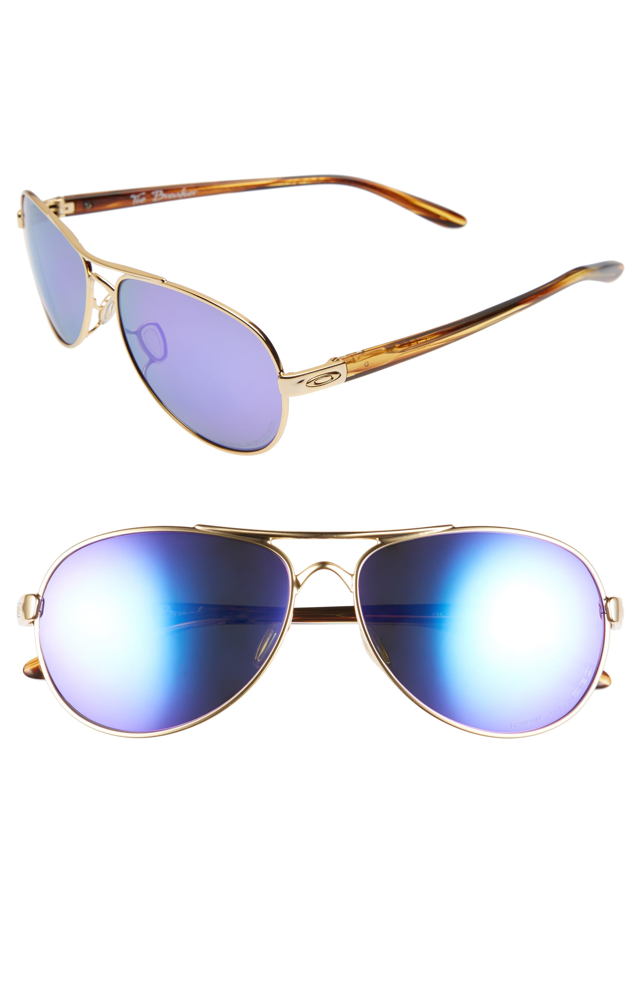 Tie Breaker 55mm Polarized Sunglasses,                             Main thumbnail 2, color,