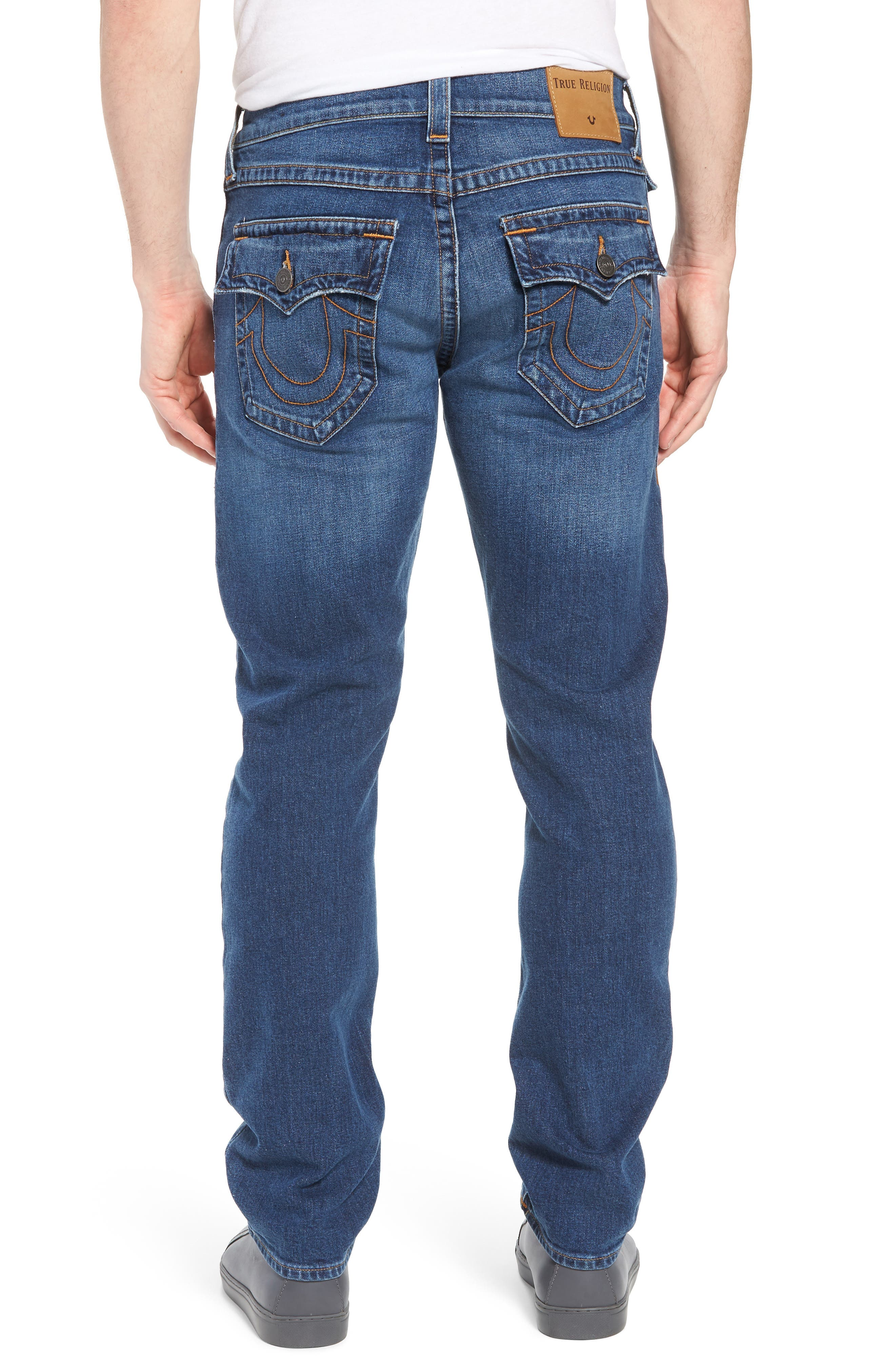 Ricky Relaxed Fit Jeans,                             Alternate thumbnail 2, color,                             INDIGO TRAVELER