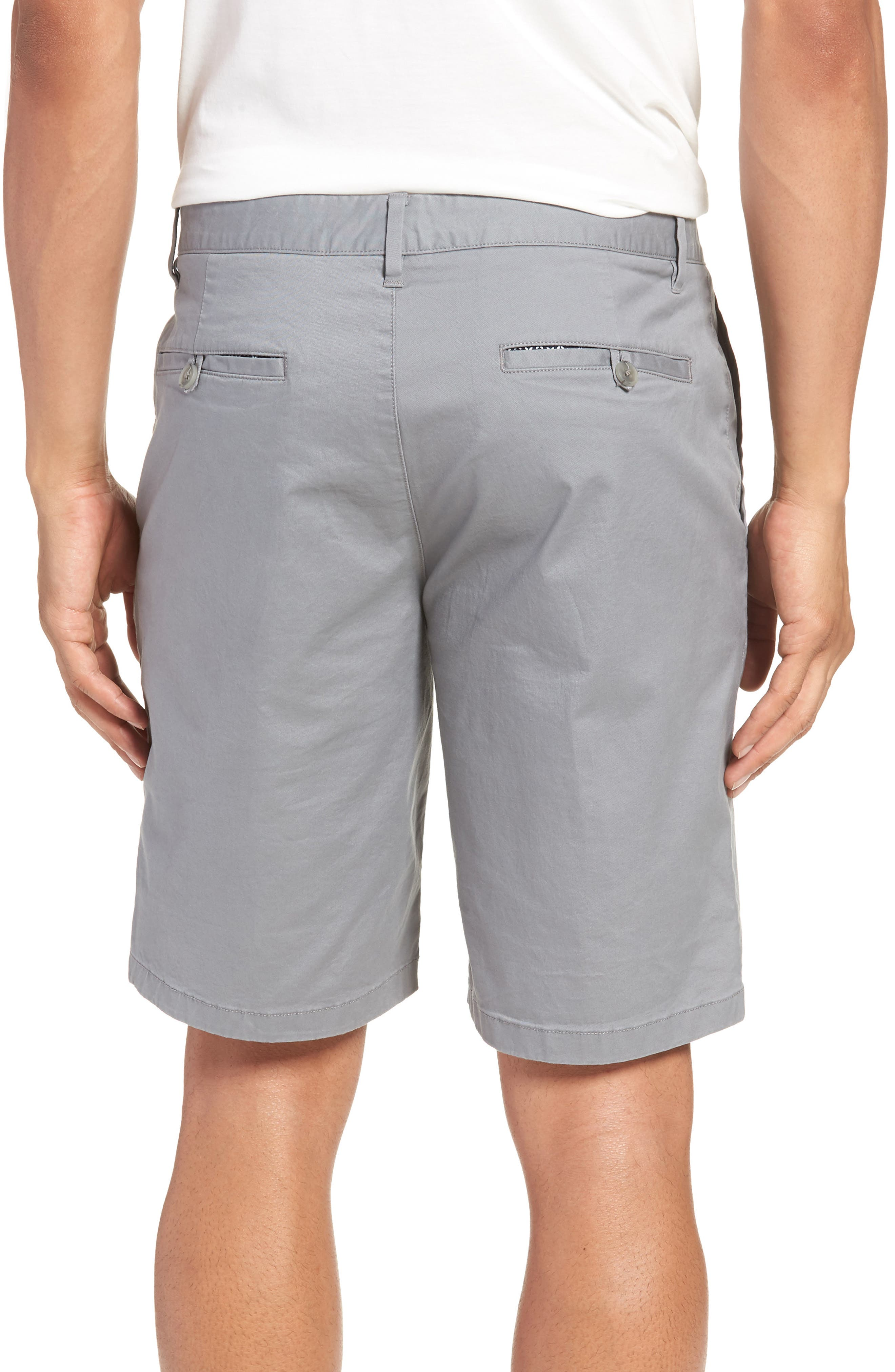 9-Inch Lightweight Stretch Chino Shorts,                             Alternate thumbnail 2, color,                             NICKEL