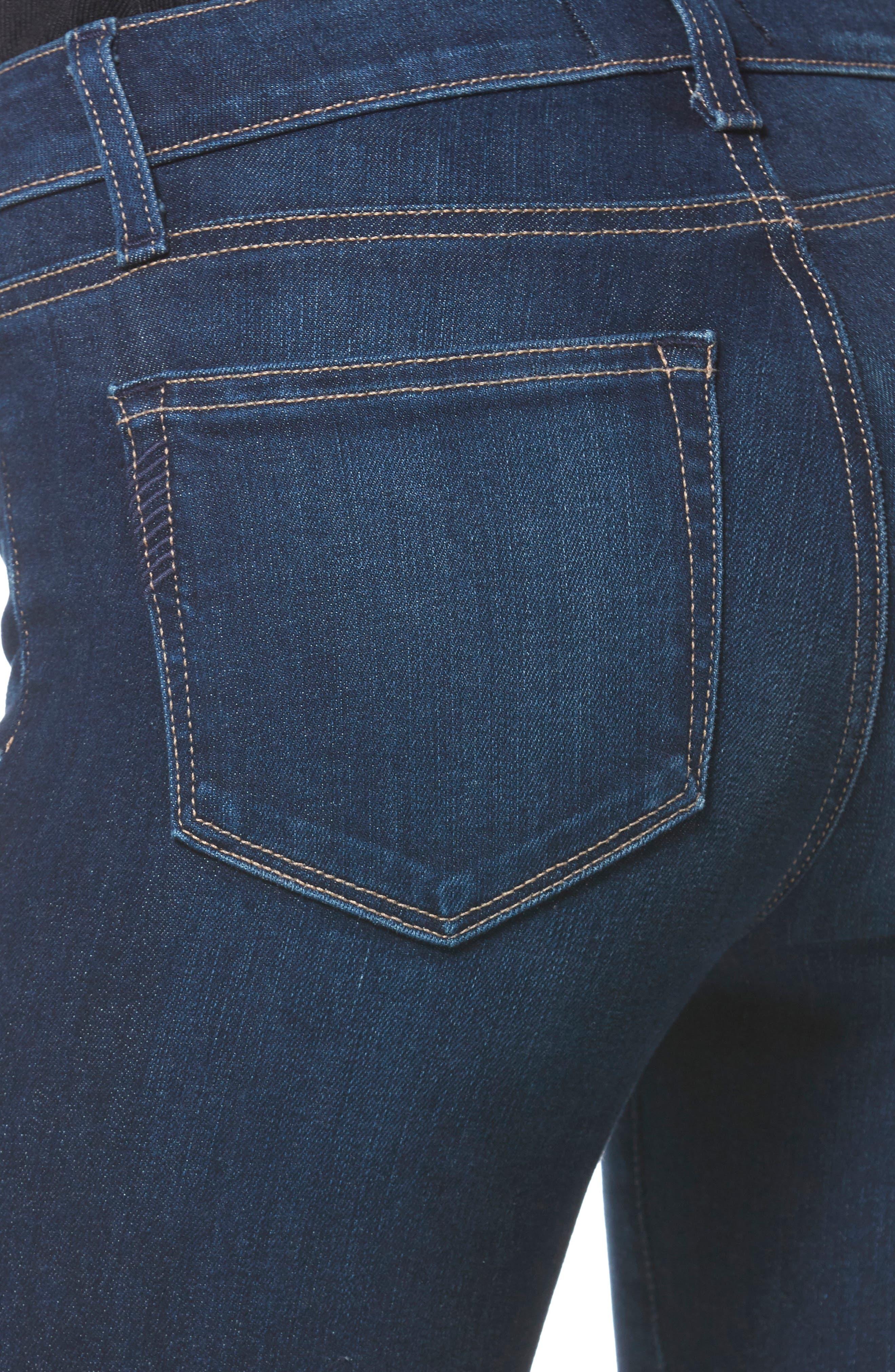 Skyline Skinny Jeans,                             Alternate thumbnail 4, color,                             IDLEWILD
