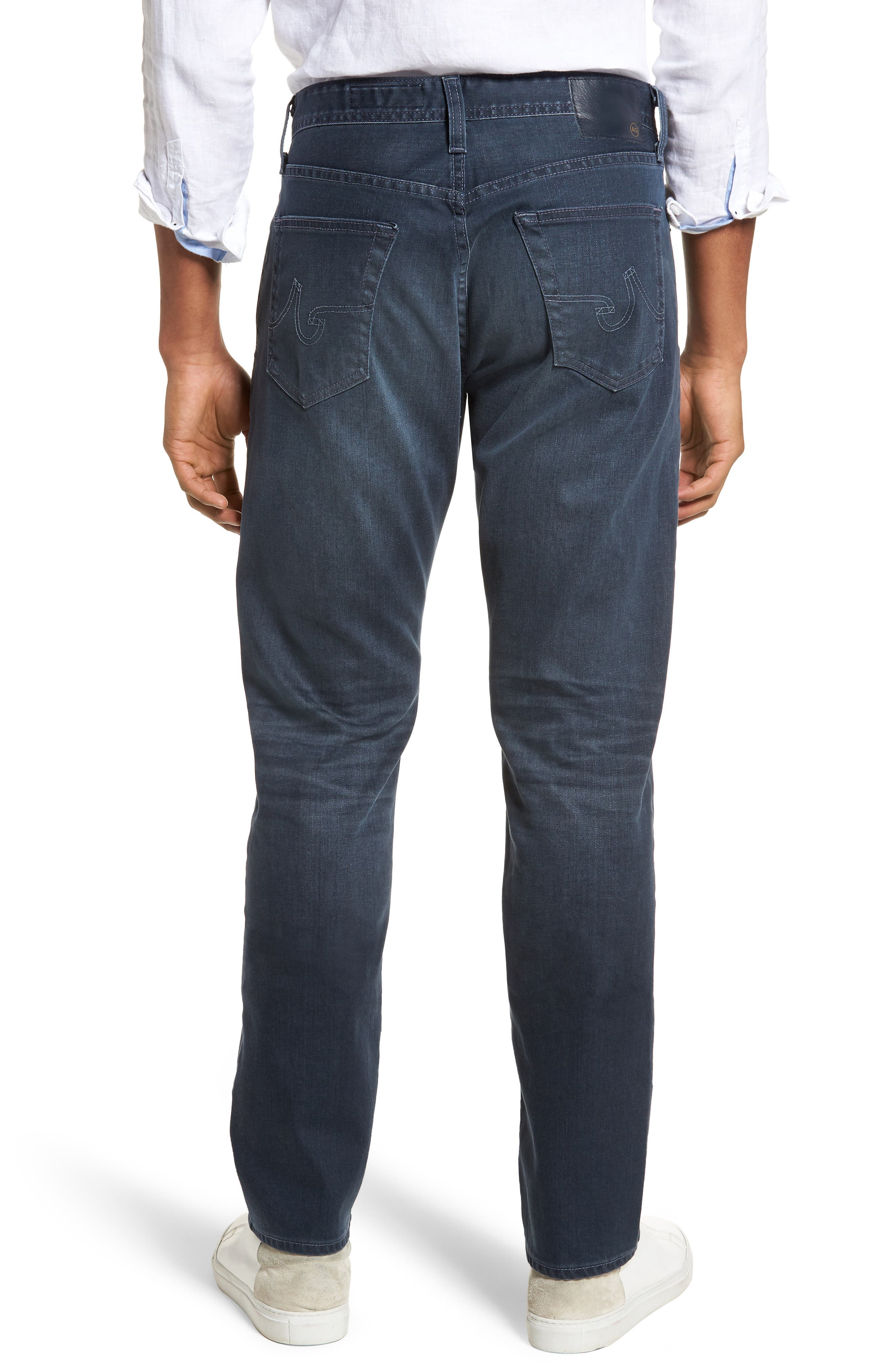 Everett Slim Straight Leg Jeans,                             Alternate thumbnail 2, color,                             9 YEARS TIDEPOOL