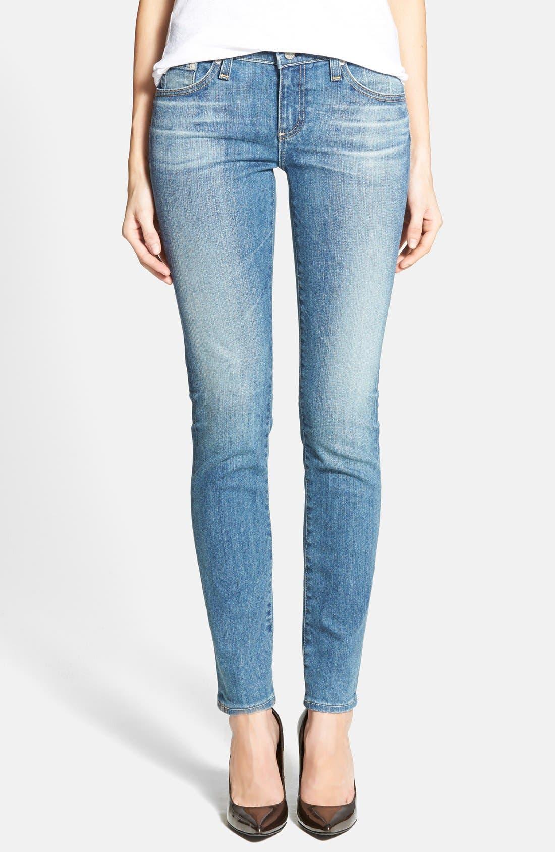 'The Stilt' Cigarette Leg Jeans,                             Main thumbnail 6, color,