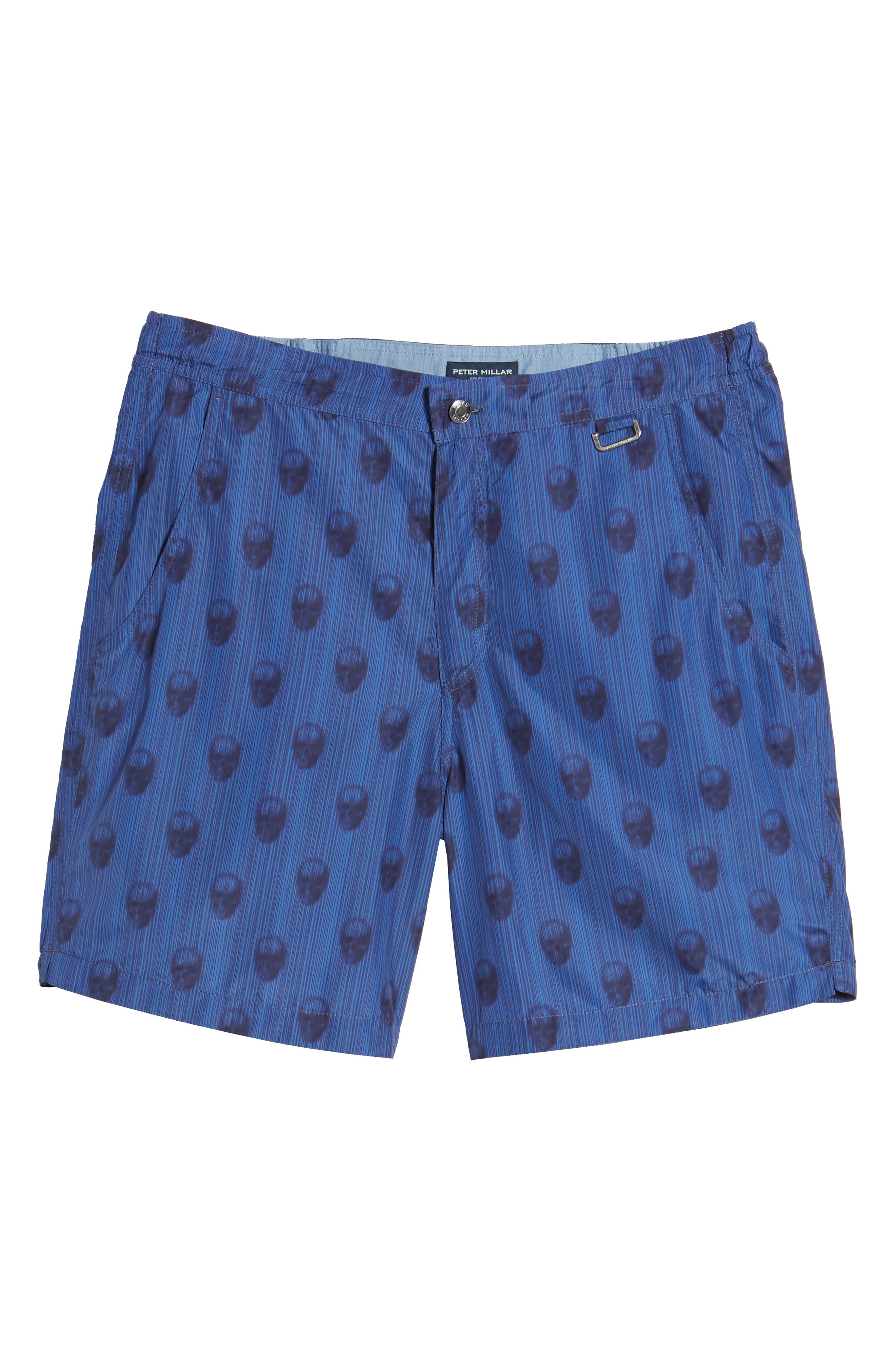 Peter Millar Black Jack's Bay Swim Trunks,                             Alternate thumbnail 6, color,                             440