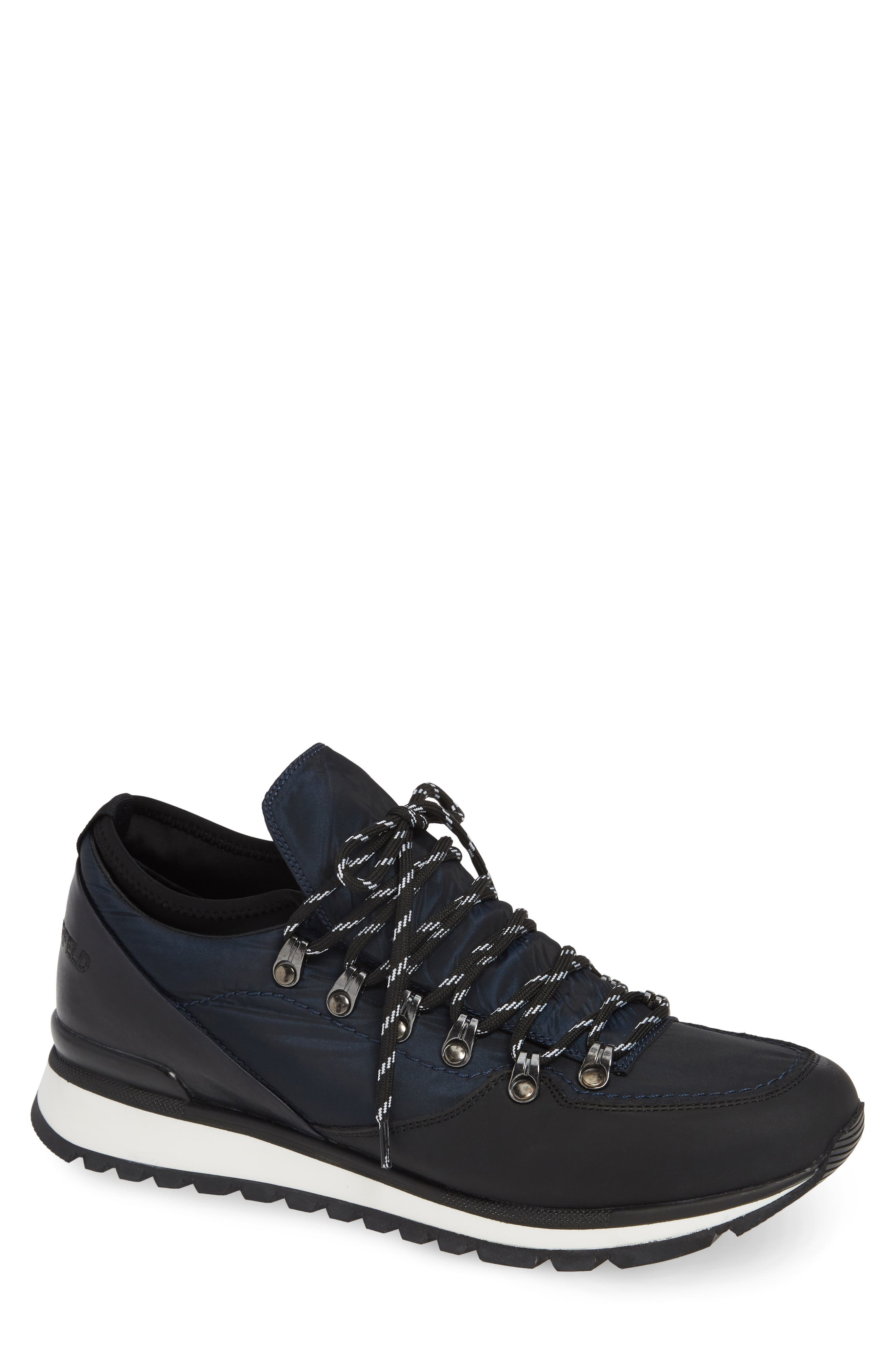Low Top Hiker Sneaker,                             Main thumbnail 1, color,                             NAVY