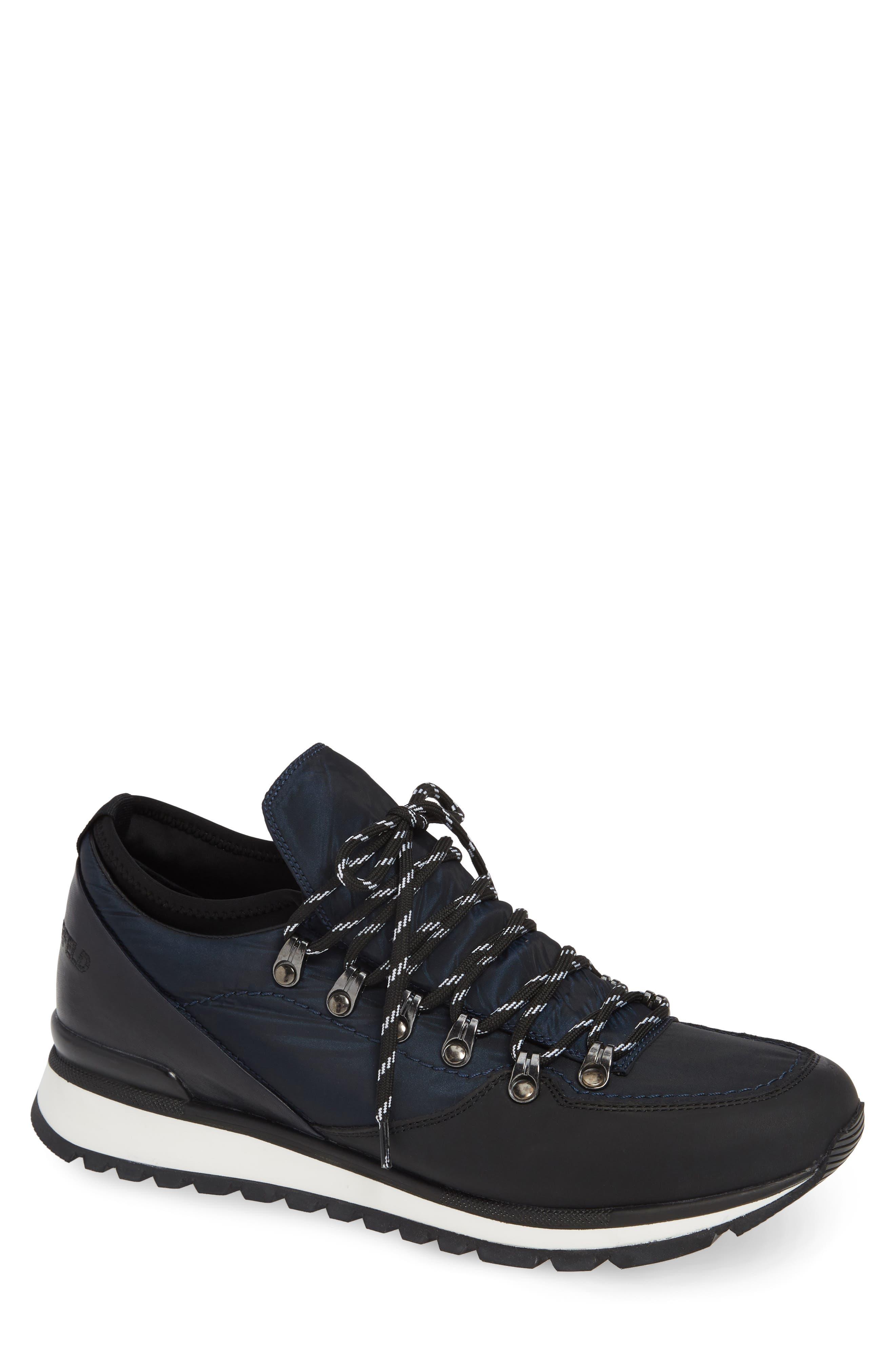 Low Top Hiker Sneaker,                         Main,                         color, NAVY