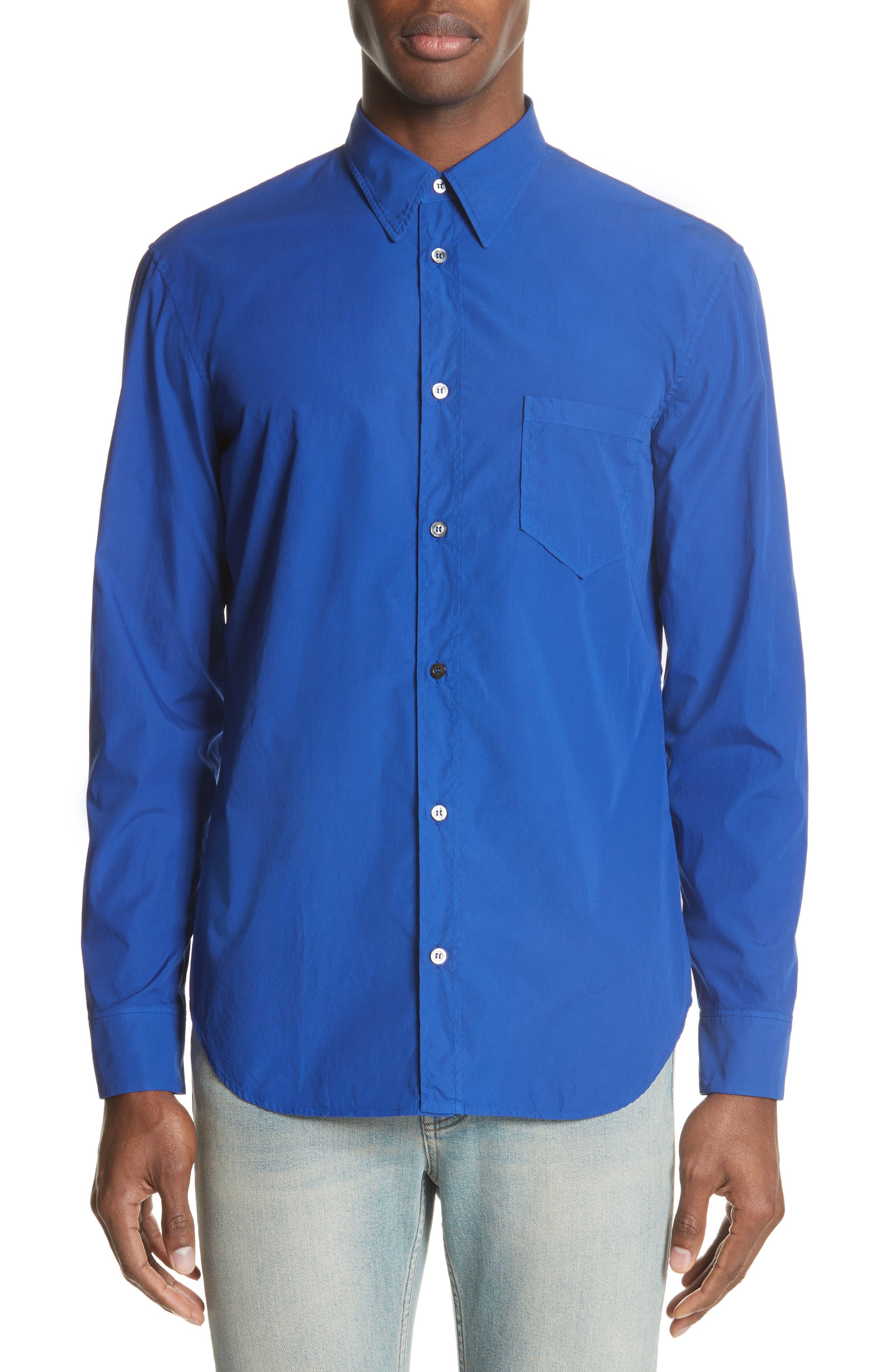 Poplin Shirt,                         Main,                         color, 400
