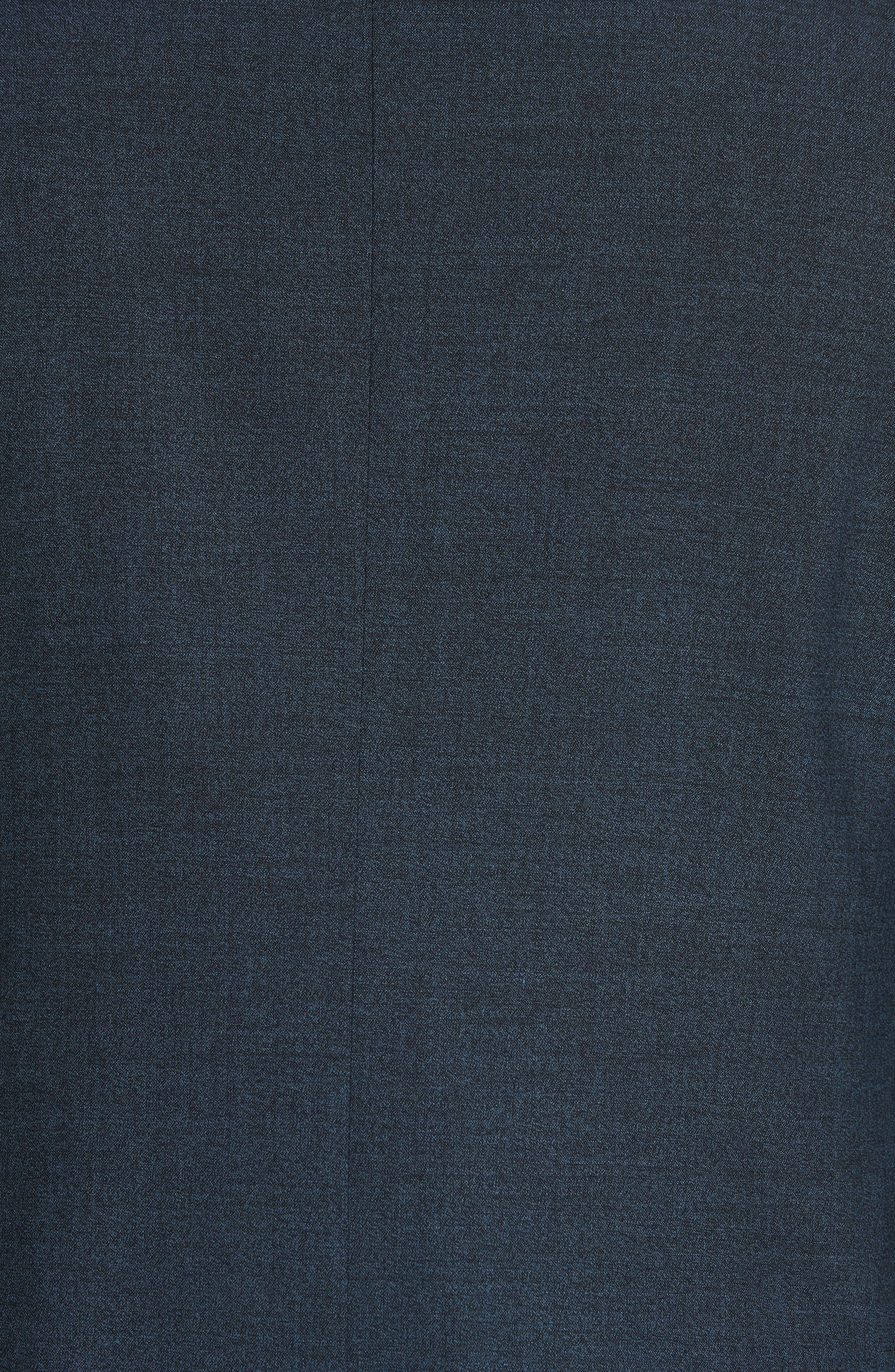 CANALI,                             Classic Fit Stretch Solid Wool Suit,                             Alternate thumbnail 6, color,                             400