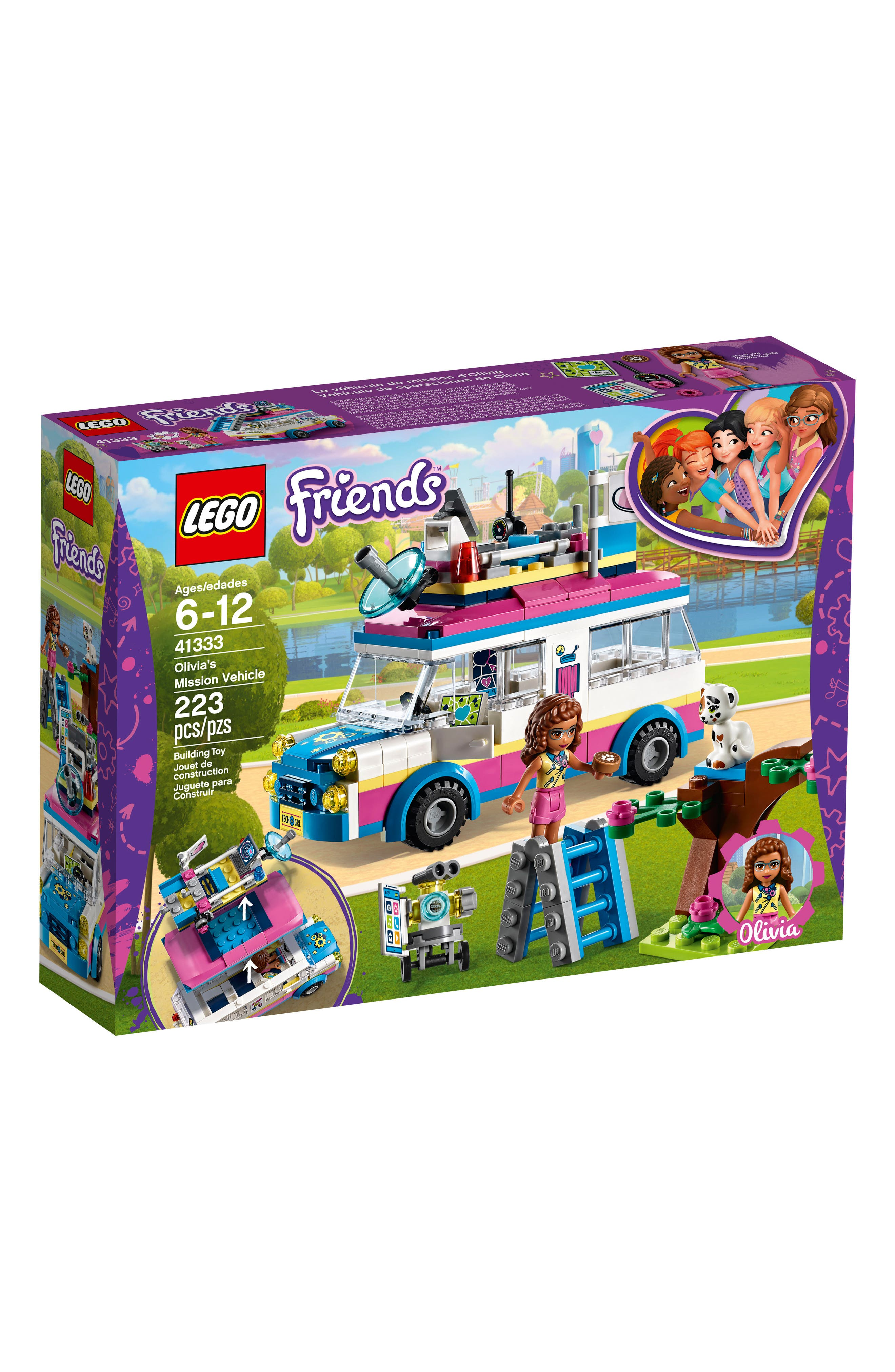 Friends Olivia's Mission Vehicle - 41333,                             Main thumbnail 1, color,                             650
