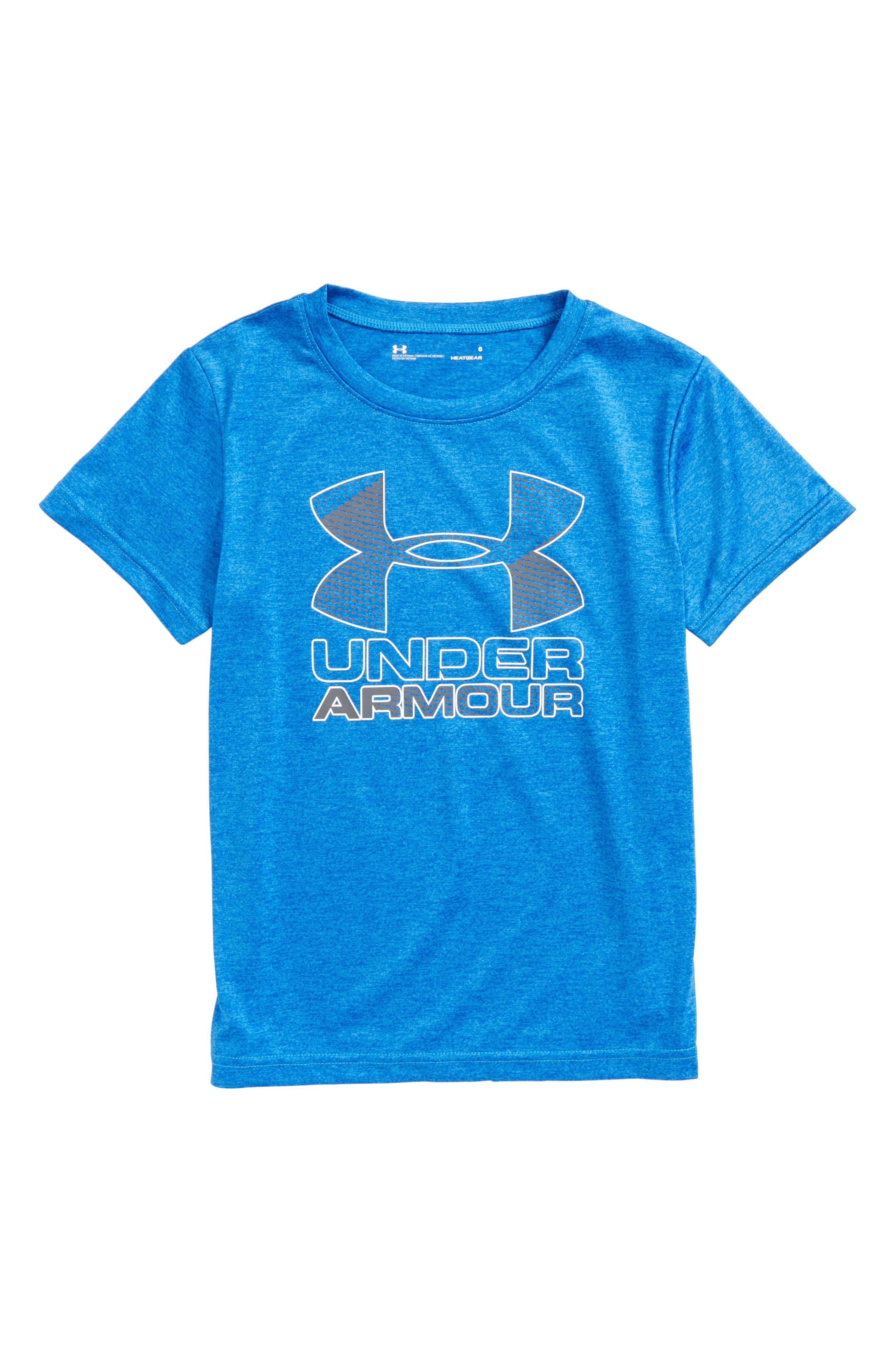 Big Logo Hybrid 2.0 HeatGear<sup>®</sup> T-Shirt,                             Main thumbnail 3, color,
