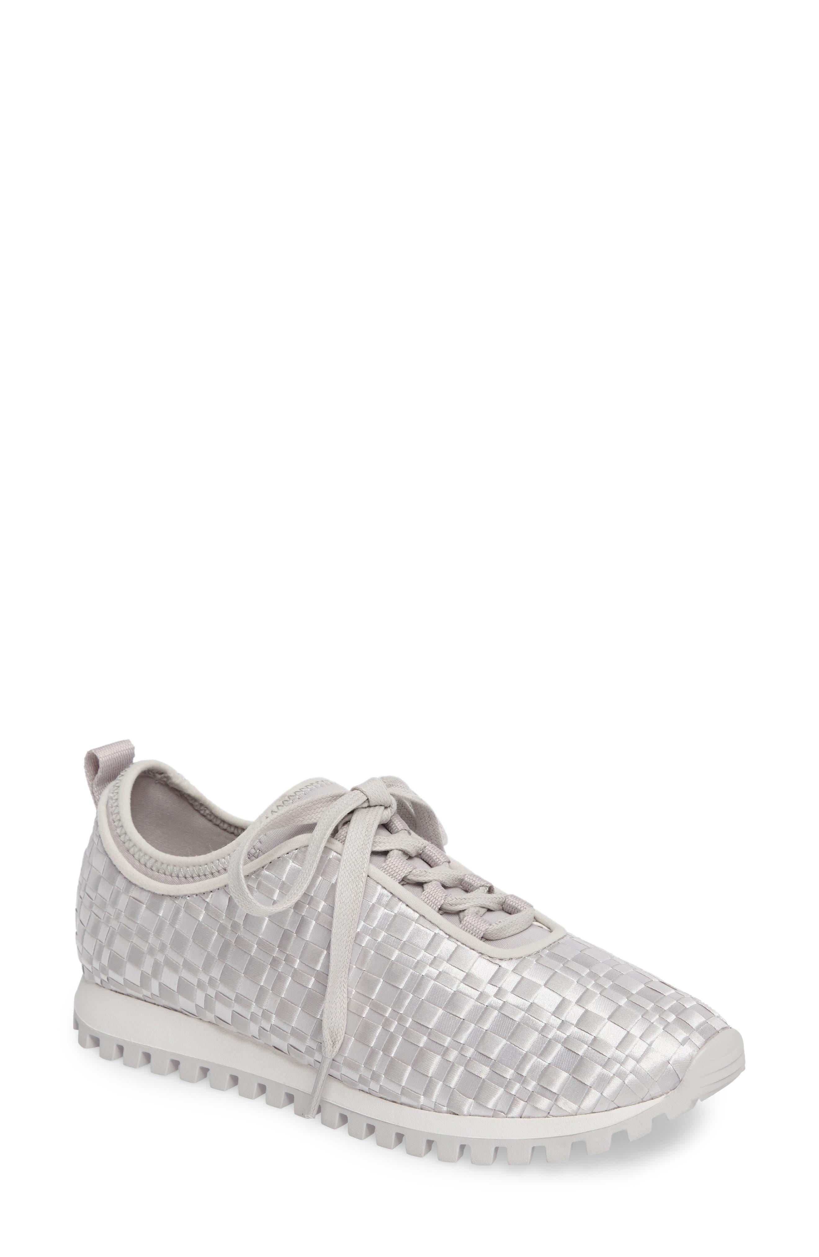 Lynn Sock Fit Woven Sneaker,                         Main,                         color, 074