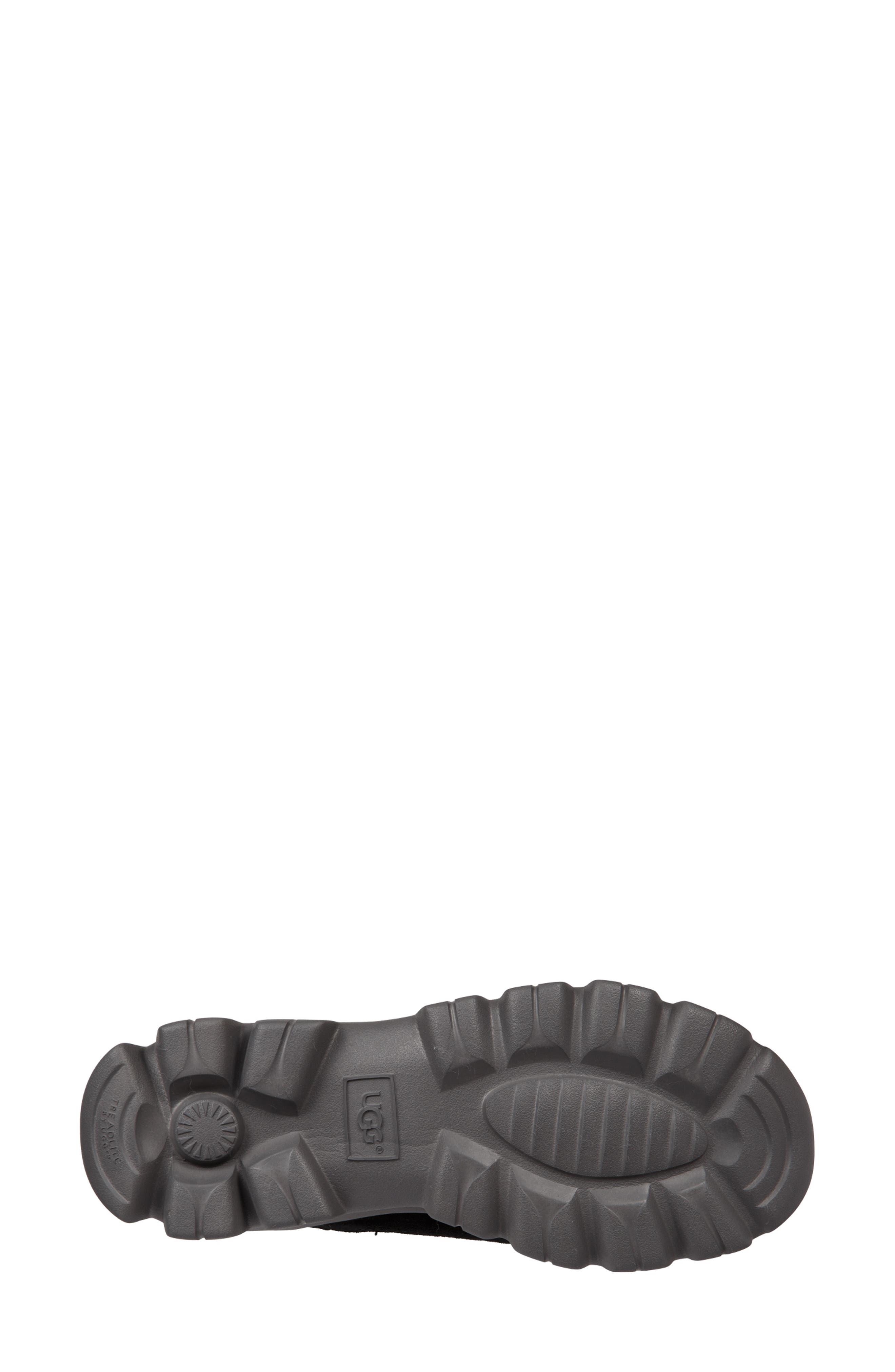 Palomar Waterproof Sneaker Bootie,                             Alternate thumbnail 5, color,                             BLACK/ CHARCOAL SUEDE