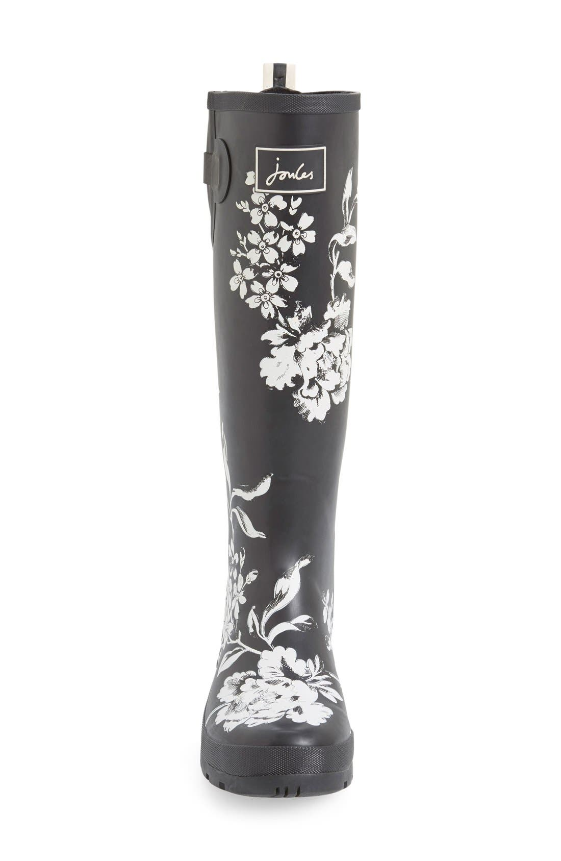 'Welly' Print Rain Boot,                             Alternate thumbnail 72, color,