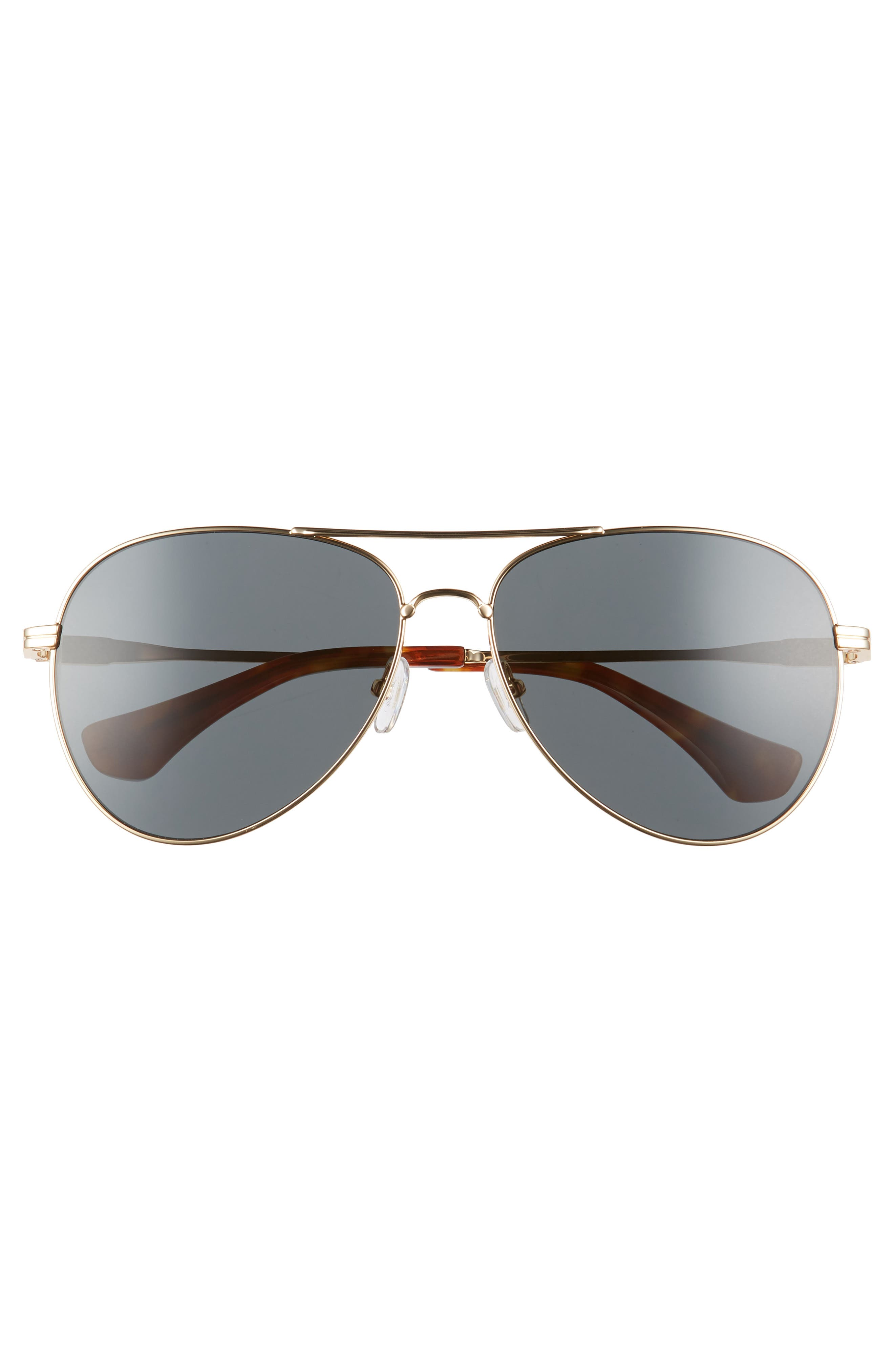 Lodi 61mm Mirrored Aviator Sunglasses,                             Alternate thumbnail 3, color,                             714
